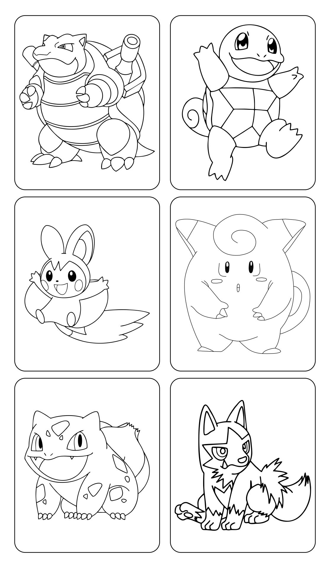 Pokemon Cards To Print And Color