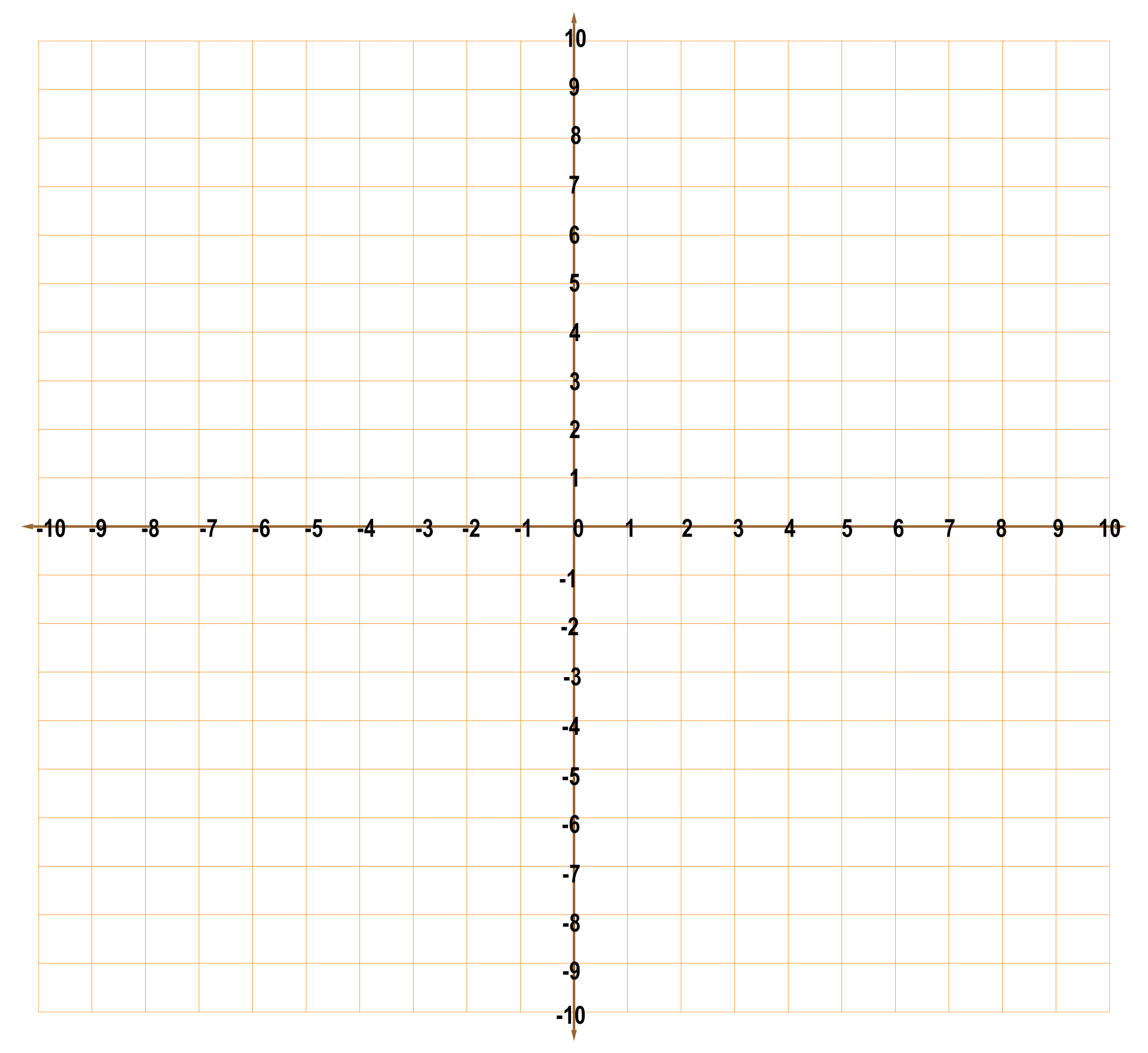 20 By 20 Grid With Numbers