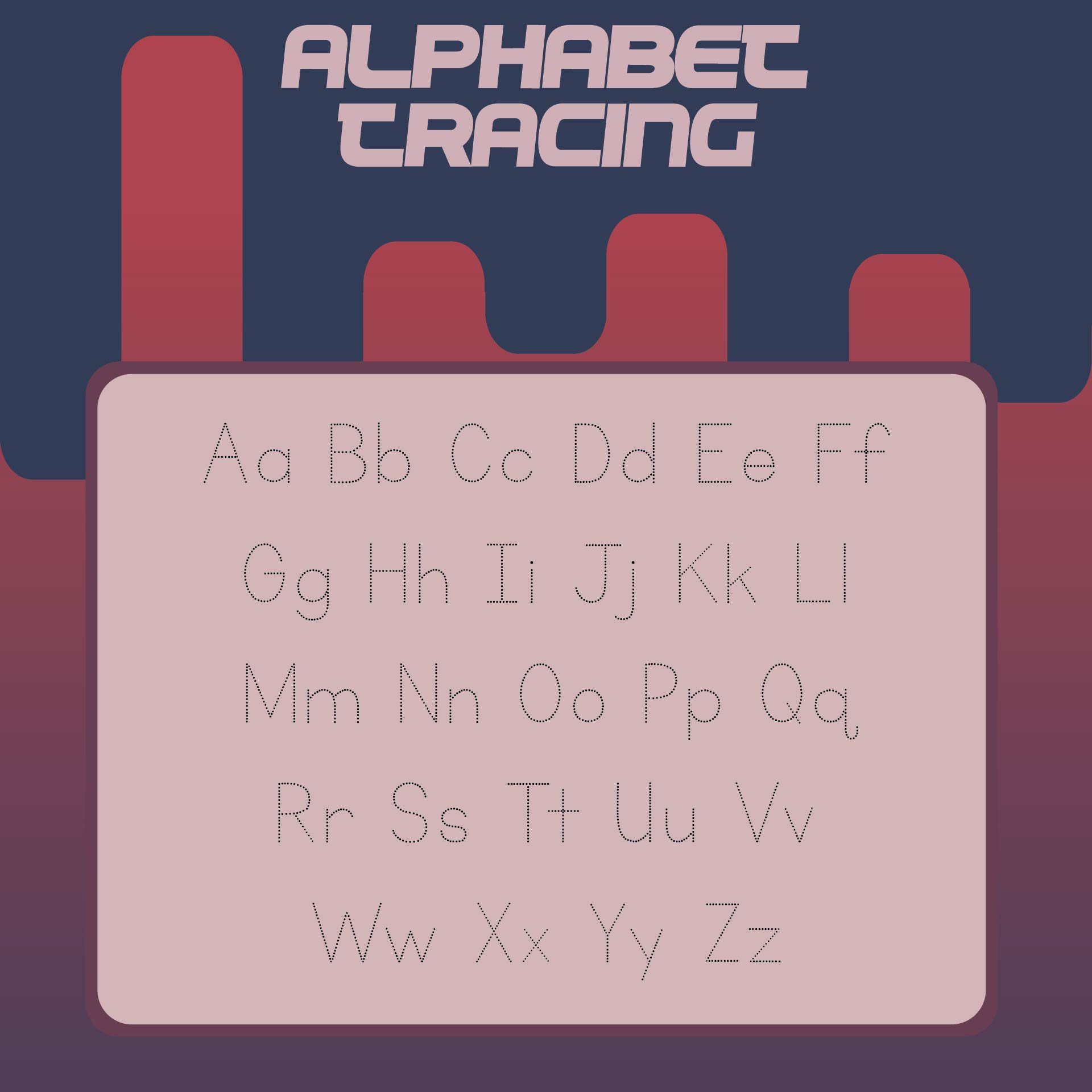 Alphabet Writing Letters