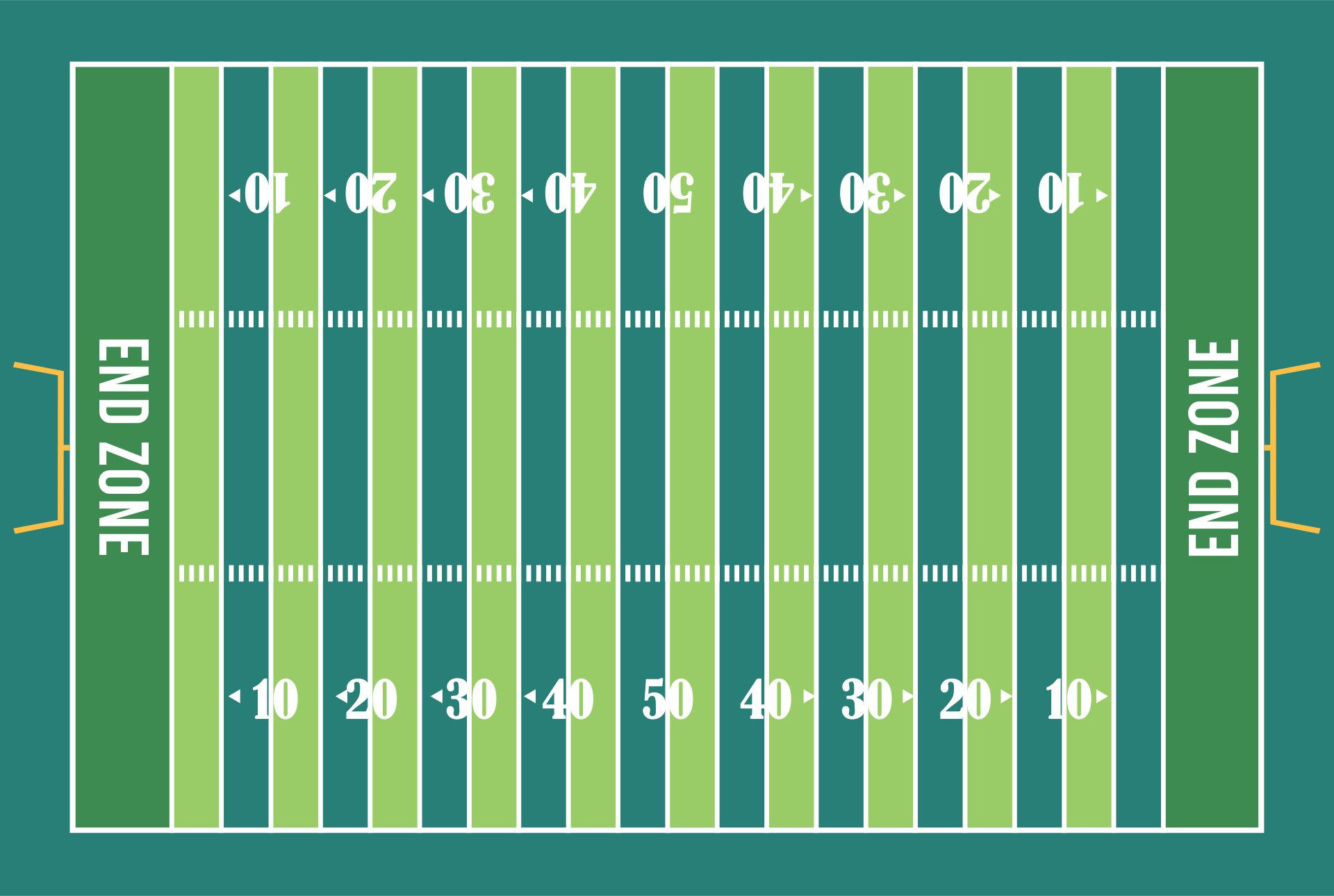 Football Field Diagram Printable