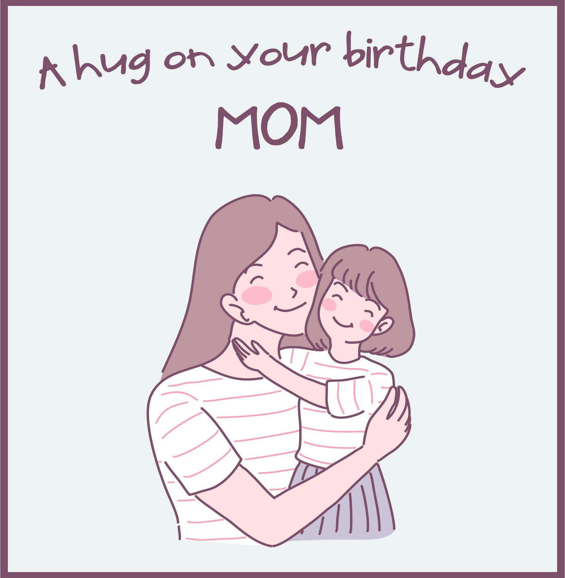 Printable Birthday Cards For Mom Homemade