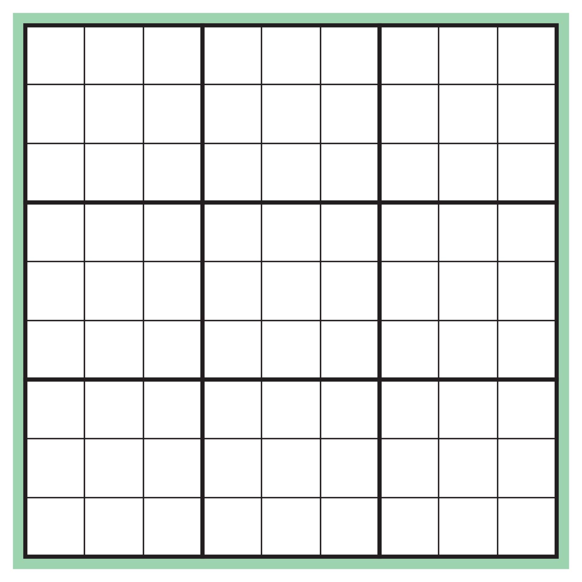 Printable Blank Sudoku Grids Pdf