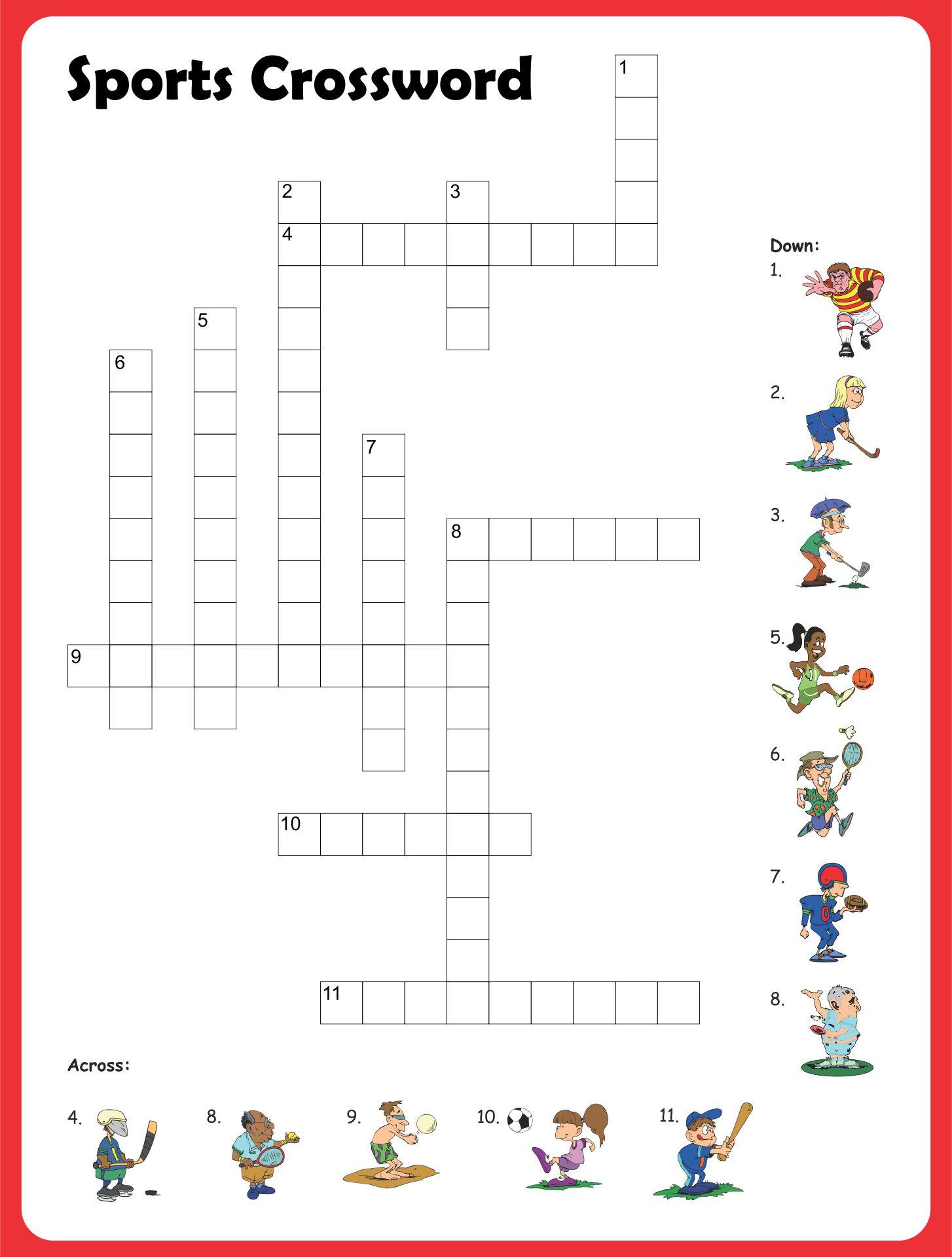 10 Best Free Printable Blank Crossword Puzzle Template Printablee Com