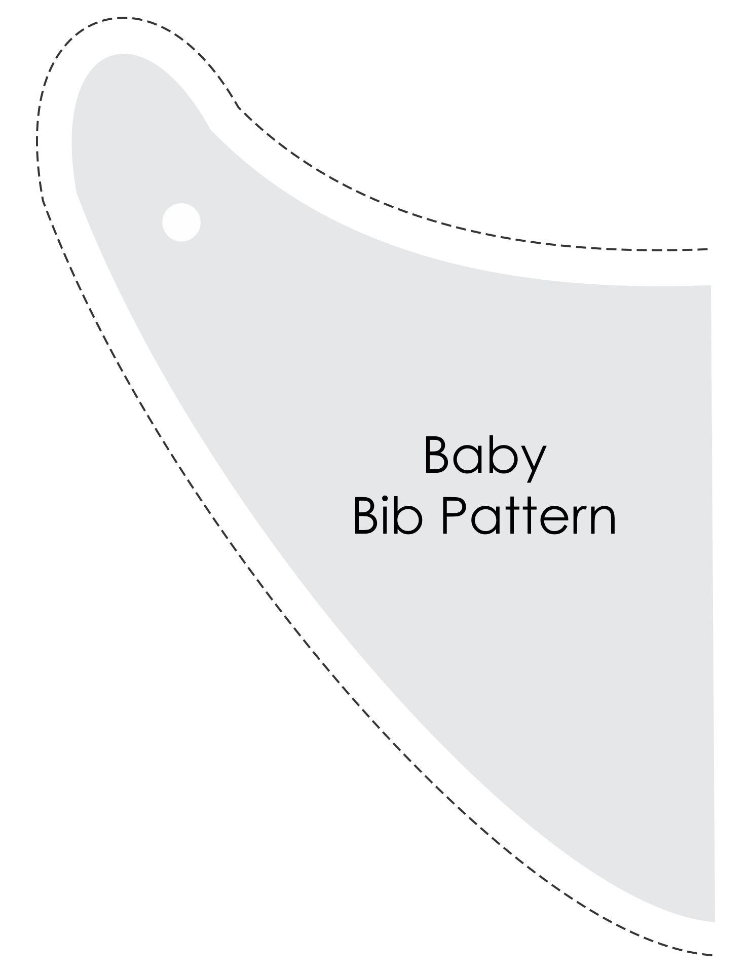 Printable Free Baby Bib Patterns