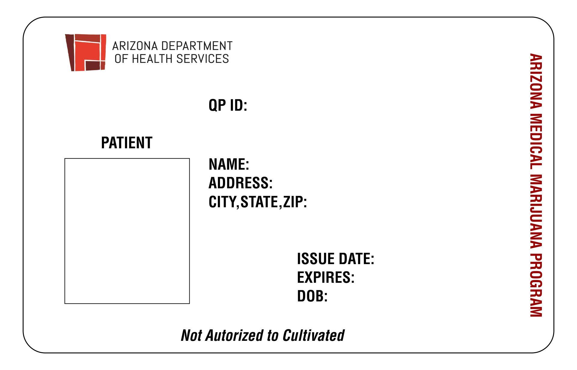 Printable Medical Cards In Arizona
