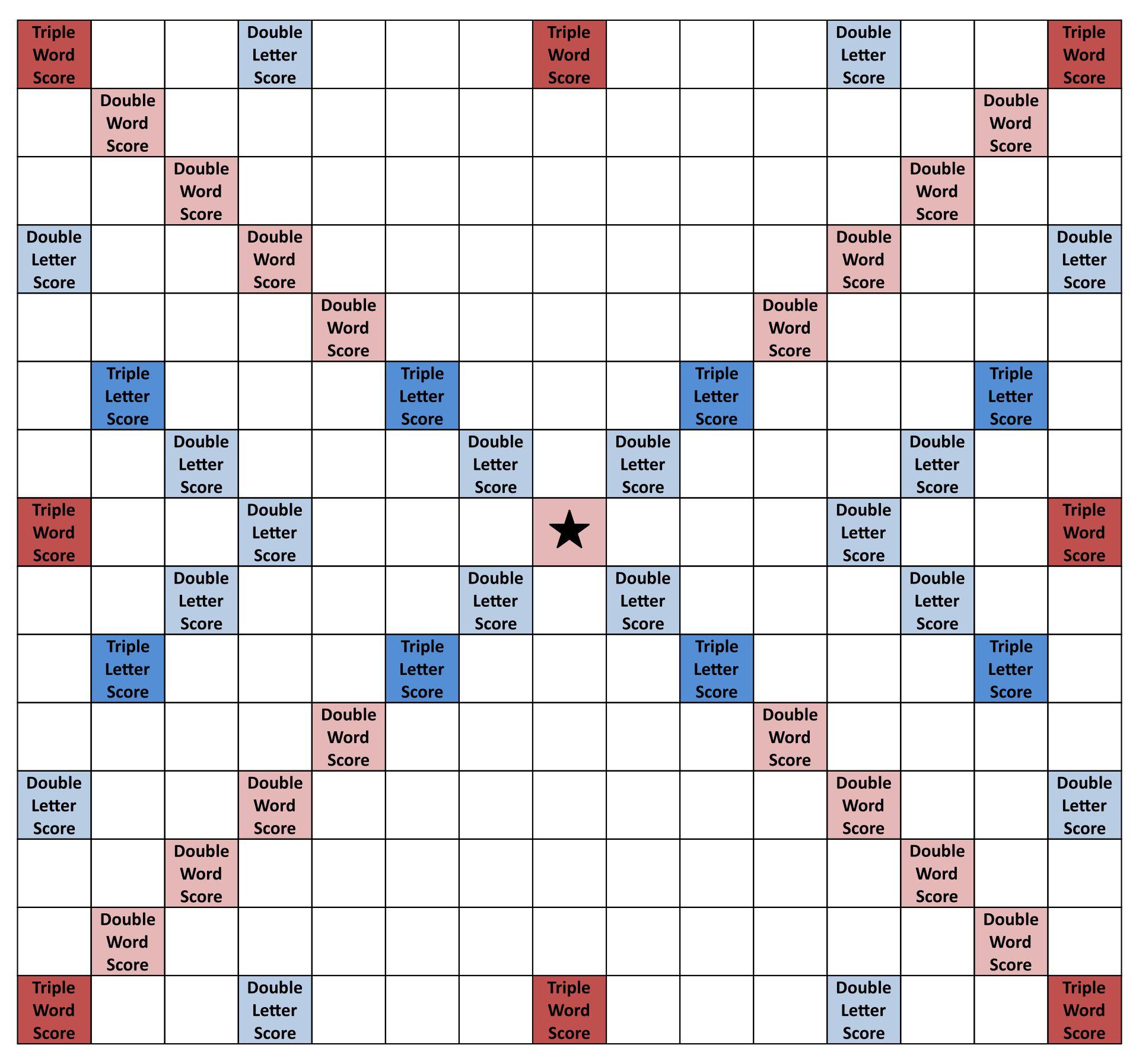 Printable Scrabble Board Game Tiles