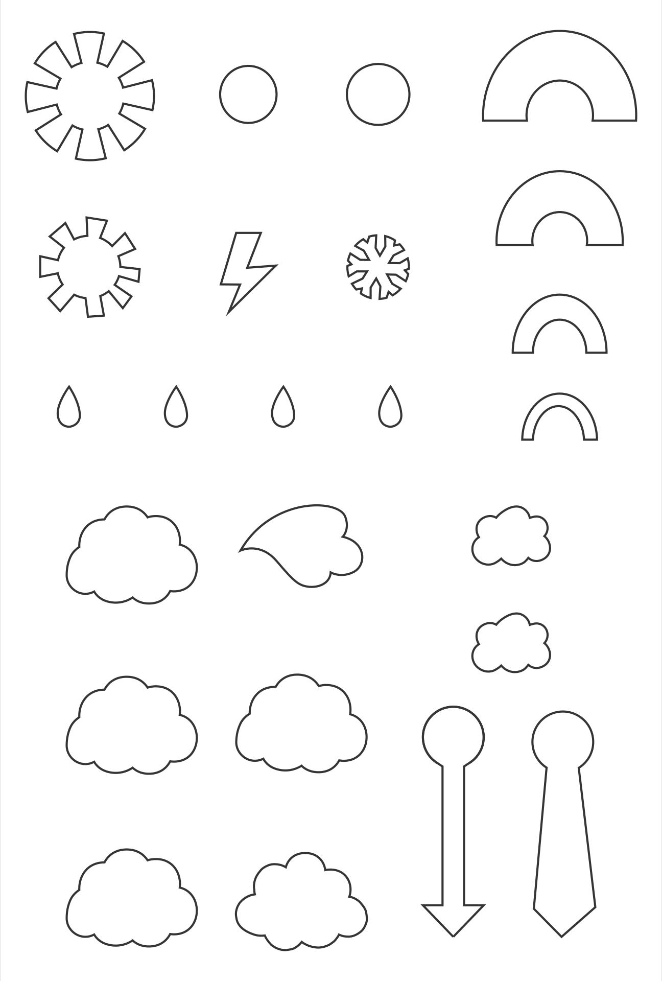 Printable Weather Wheel Activity