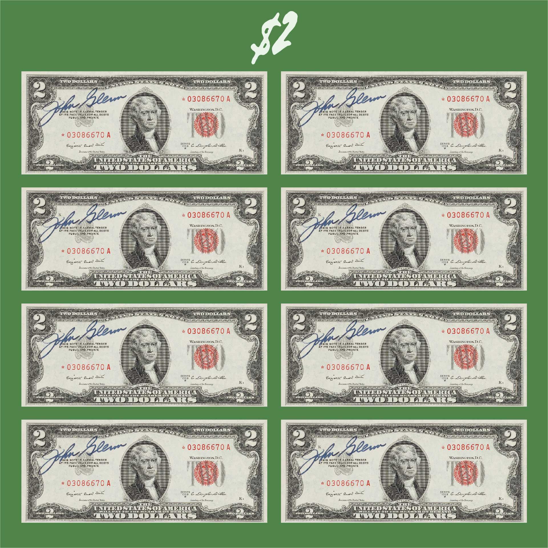 2 Dollar Bill Value Chart