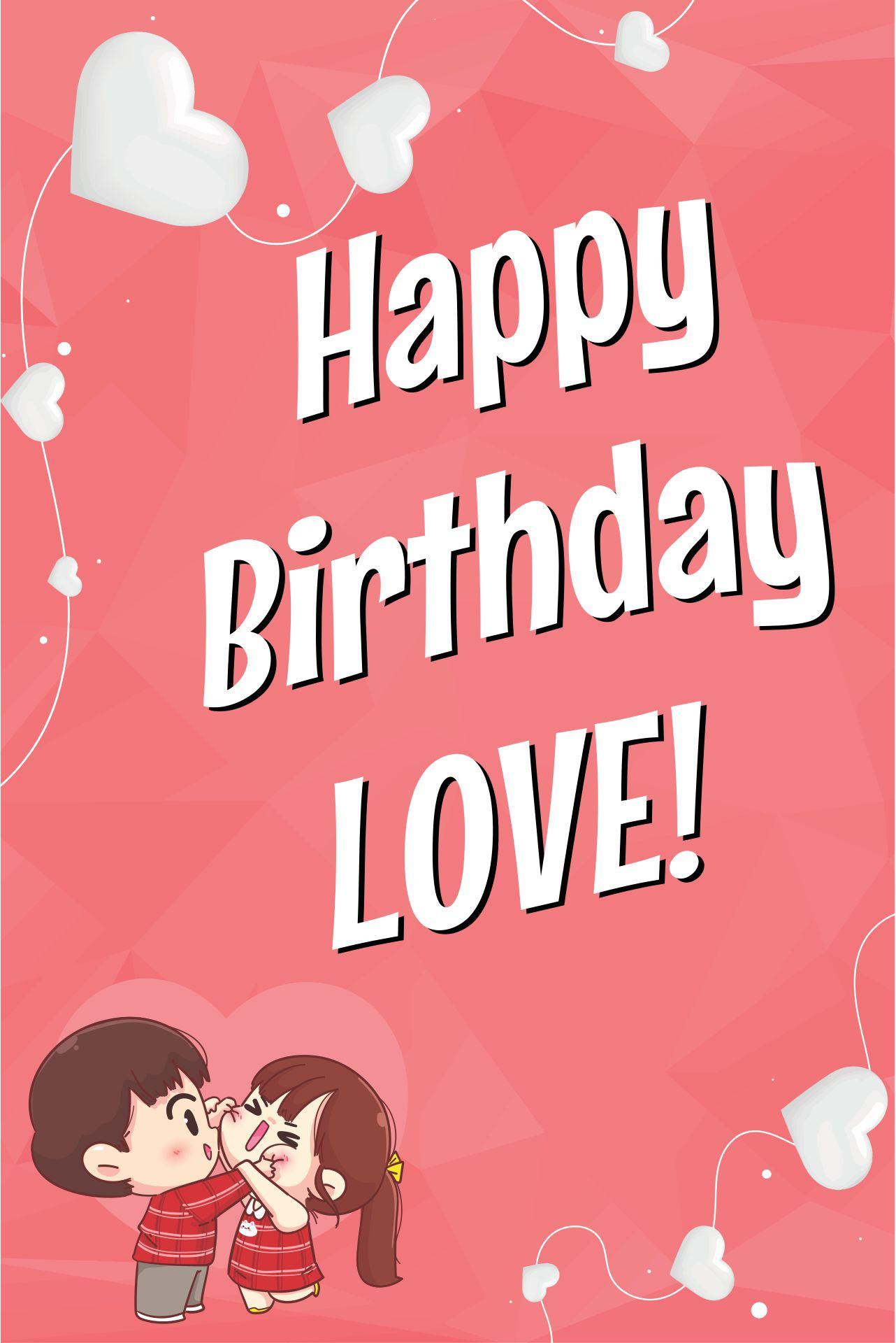 Birthday Cards For Him Romantic