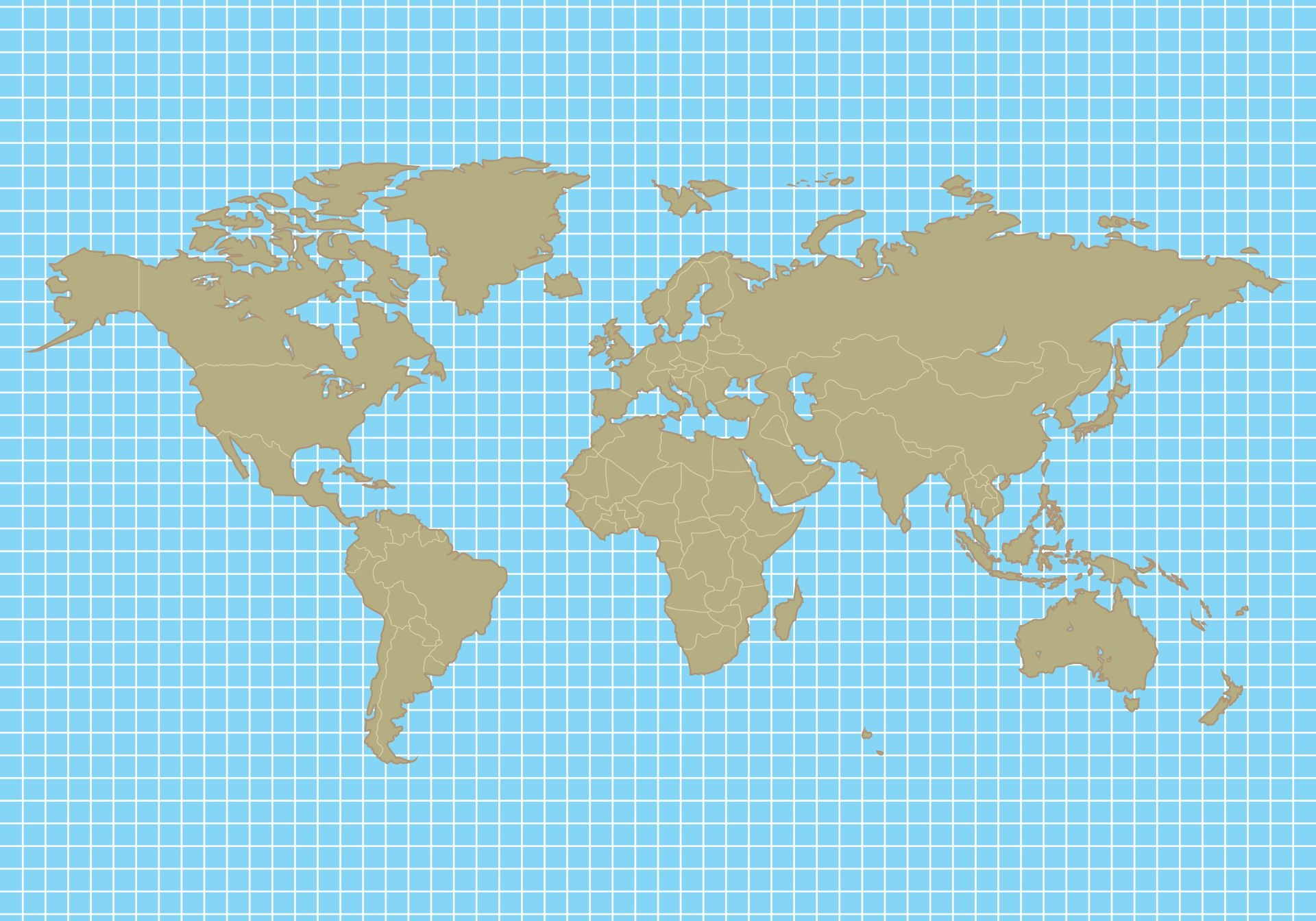 Blank World Map Continents Pdf