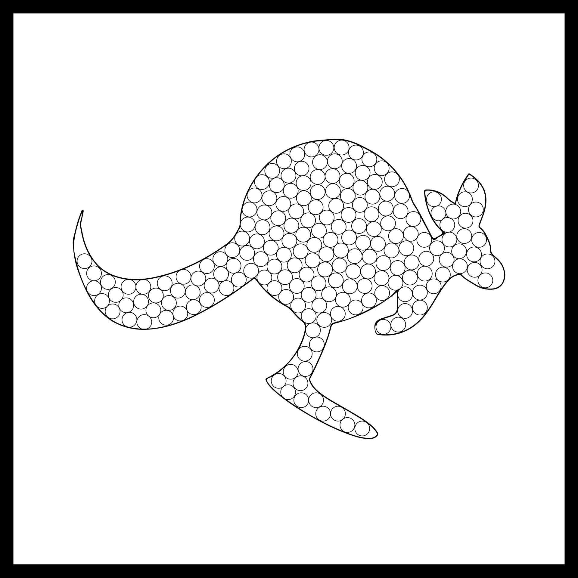 Dot Painting Printables For Adults