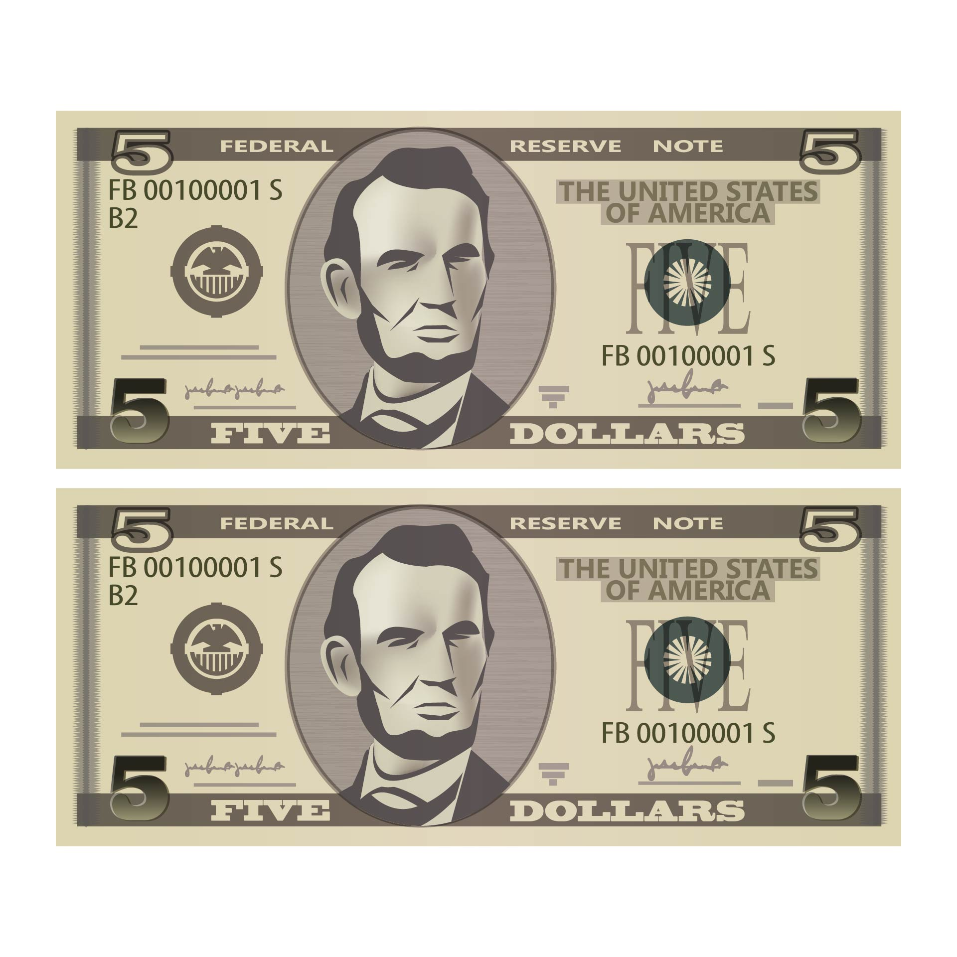 Fake Prop Money That Looks And Feels Real
