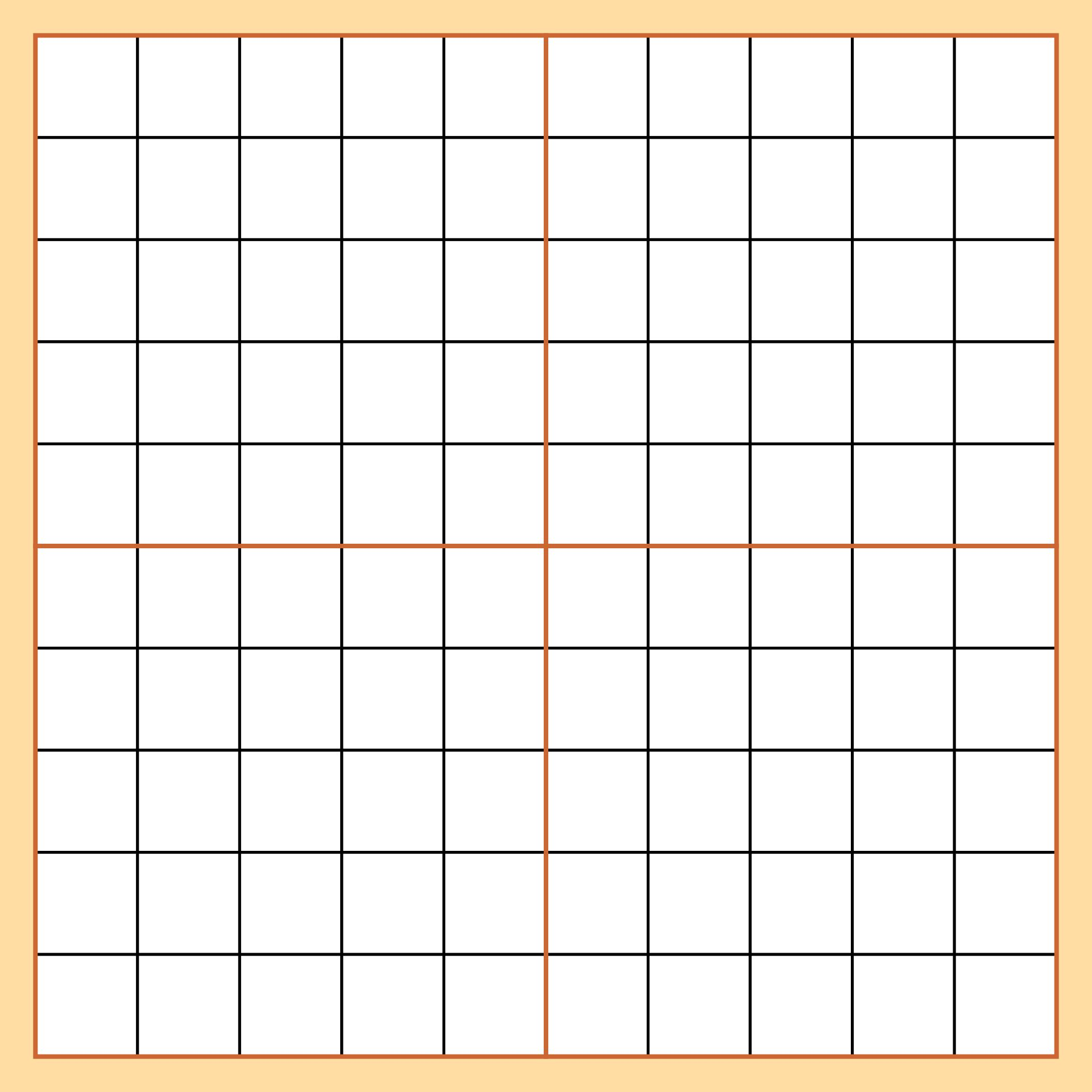 Free 10x10 Grid Printable