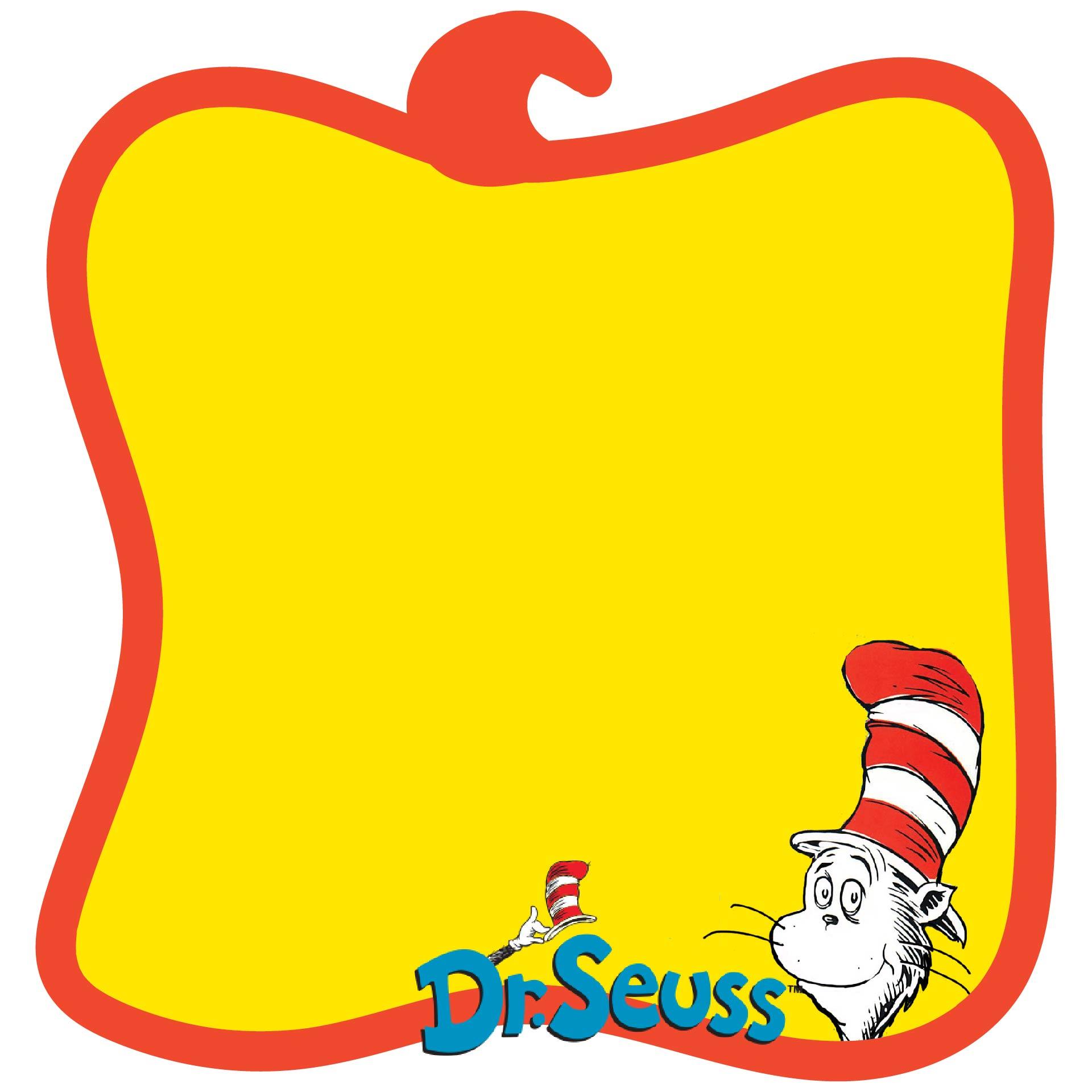 Free Dr Seuss Border Paper
