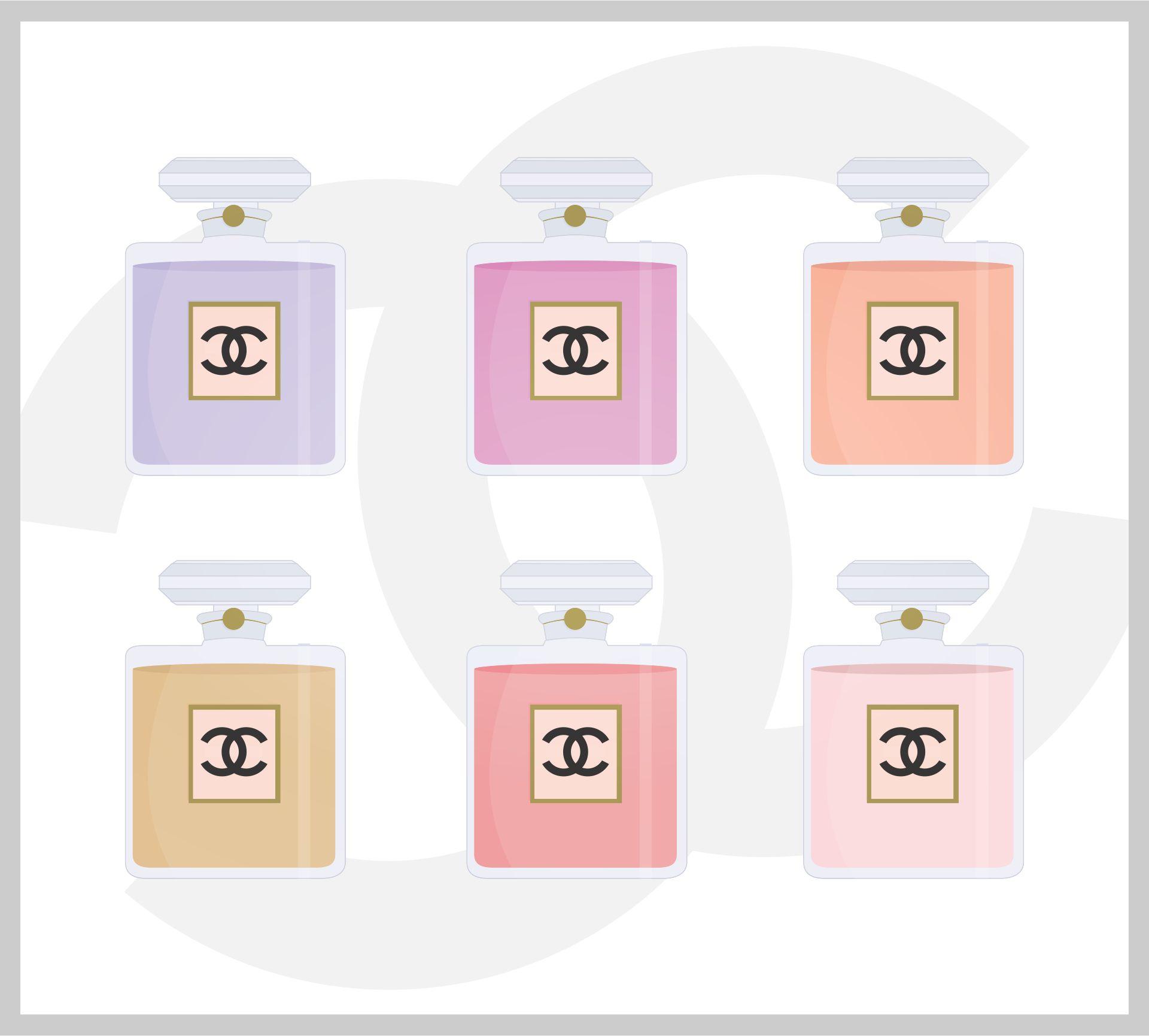 Free Printable Chanel Wall Art