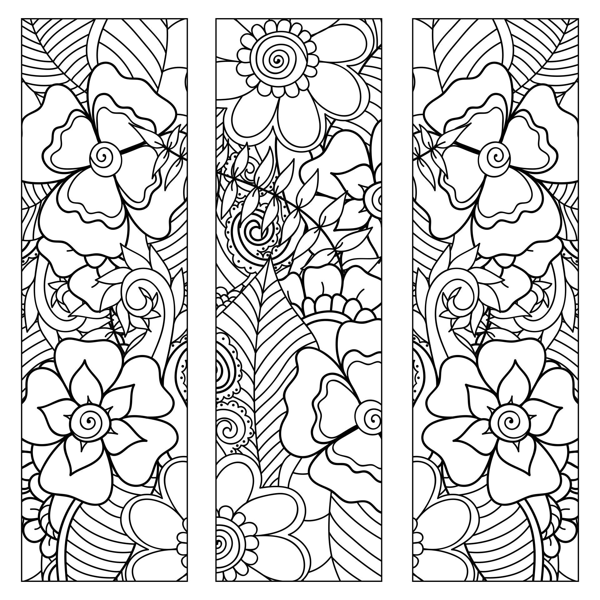 Free Printable Zentangle Designs