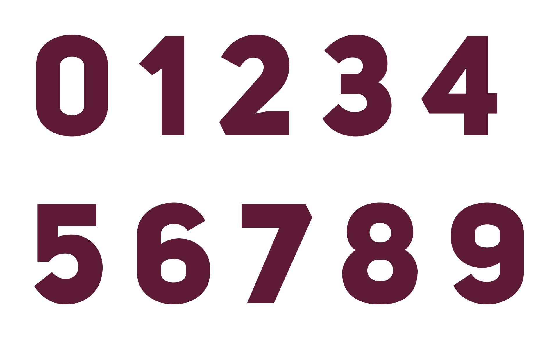 Large Printable Numbers 0-9 Pdf