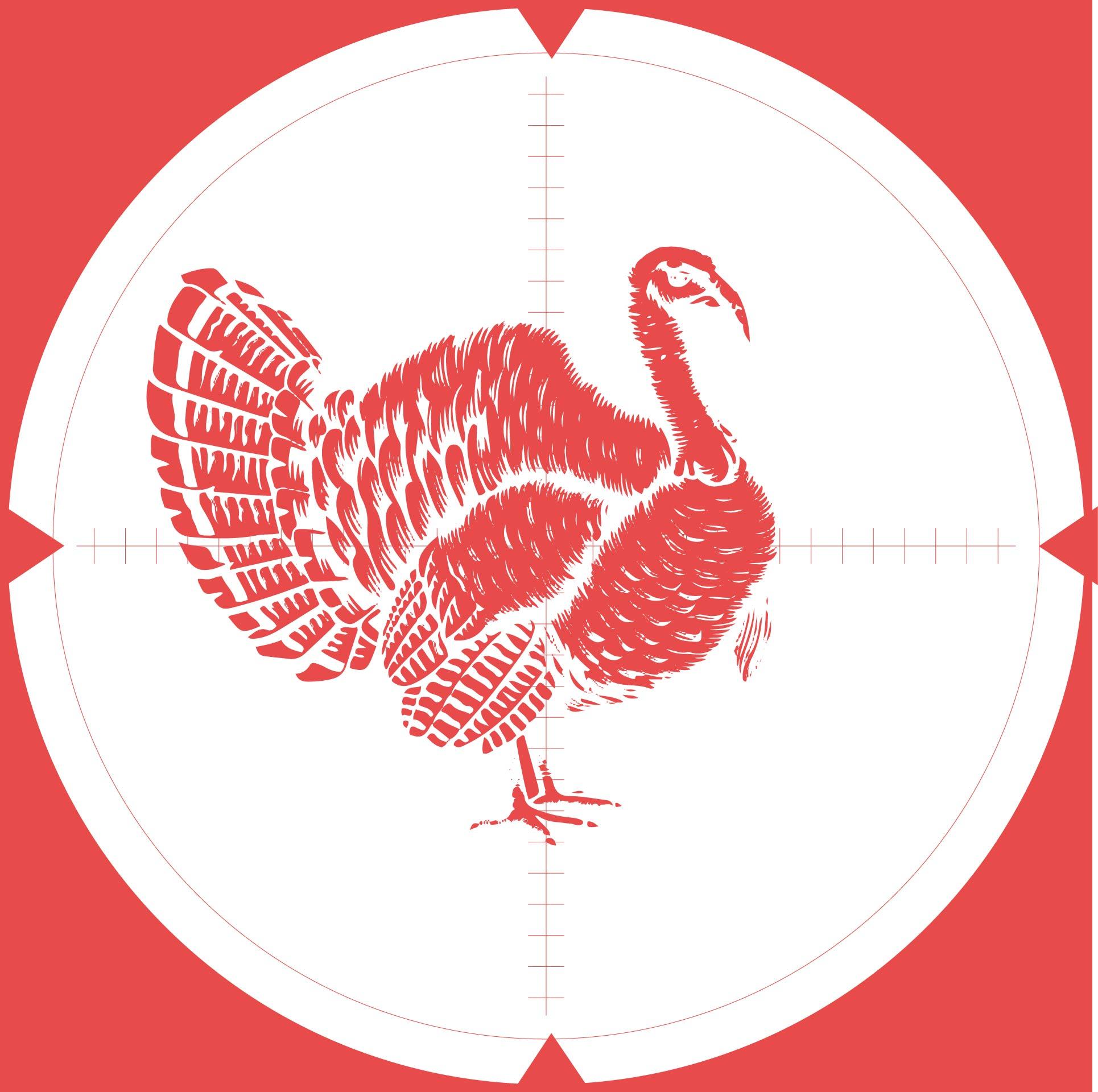 Mossy Oak Printable Turkey Targets