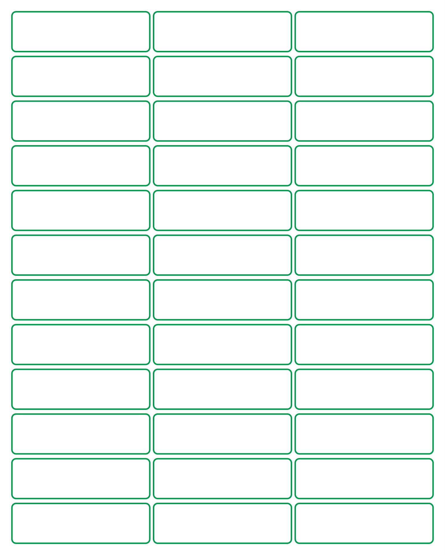 Pendaflex Printable Tab Inserts Template