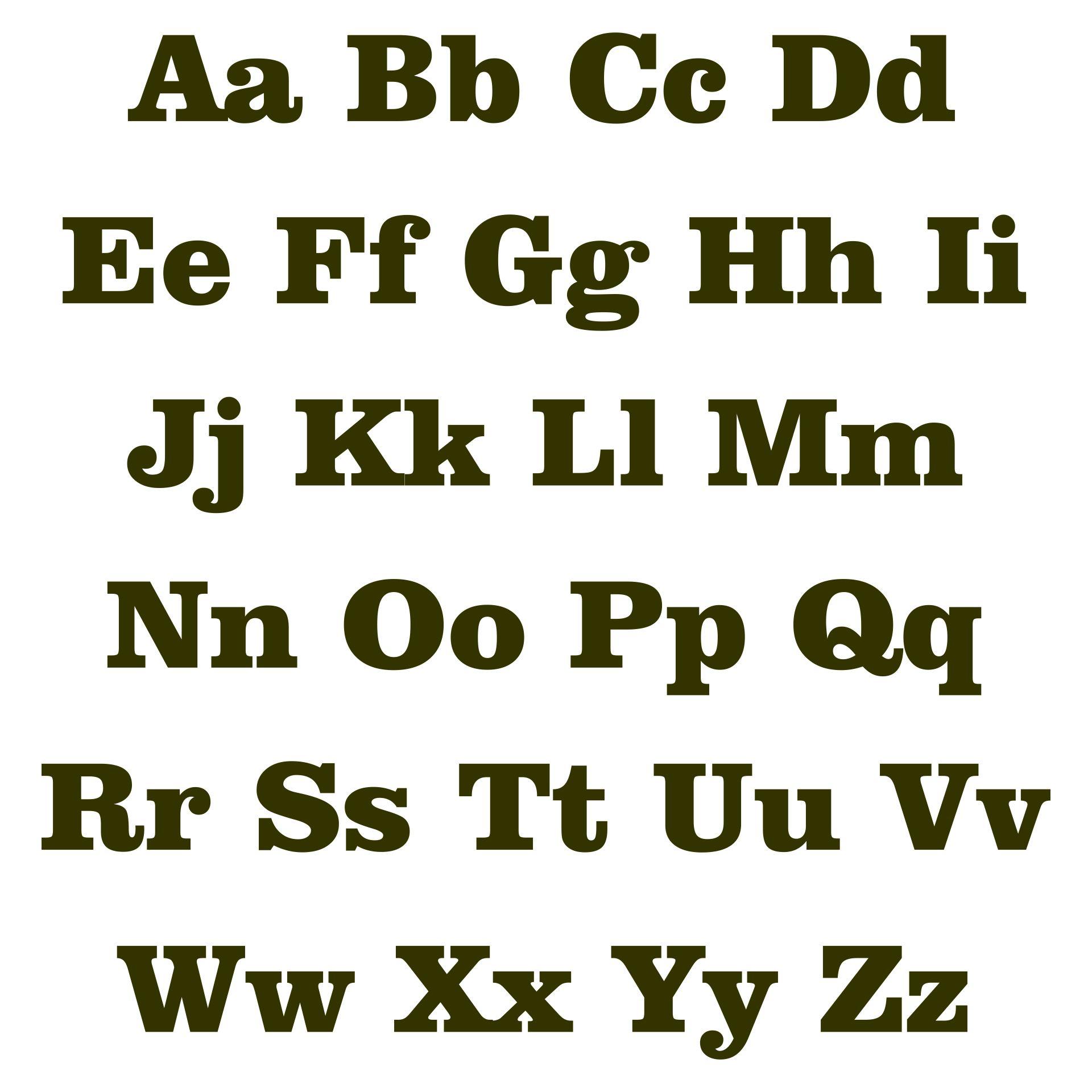 Printable Block Letters For Bulletin Boards