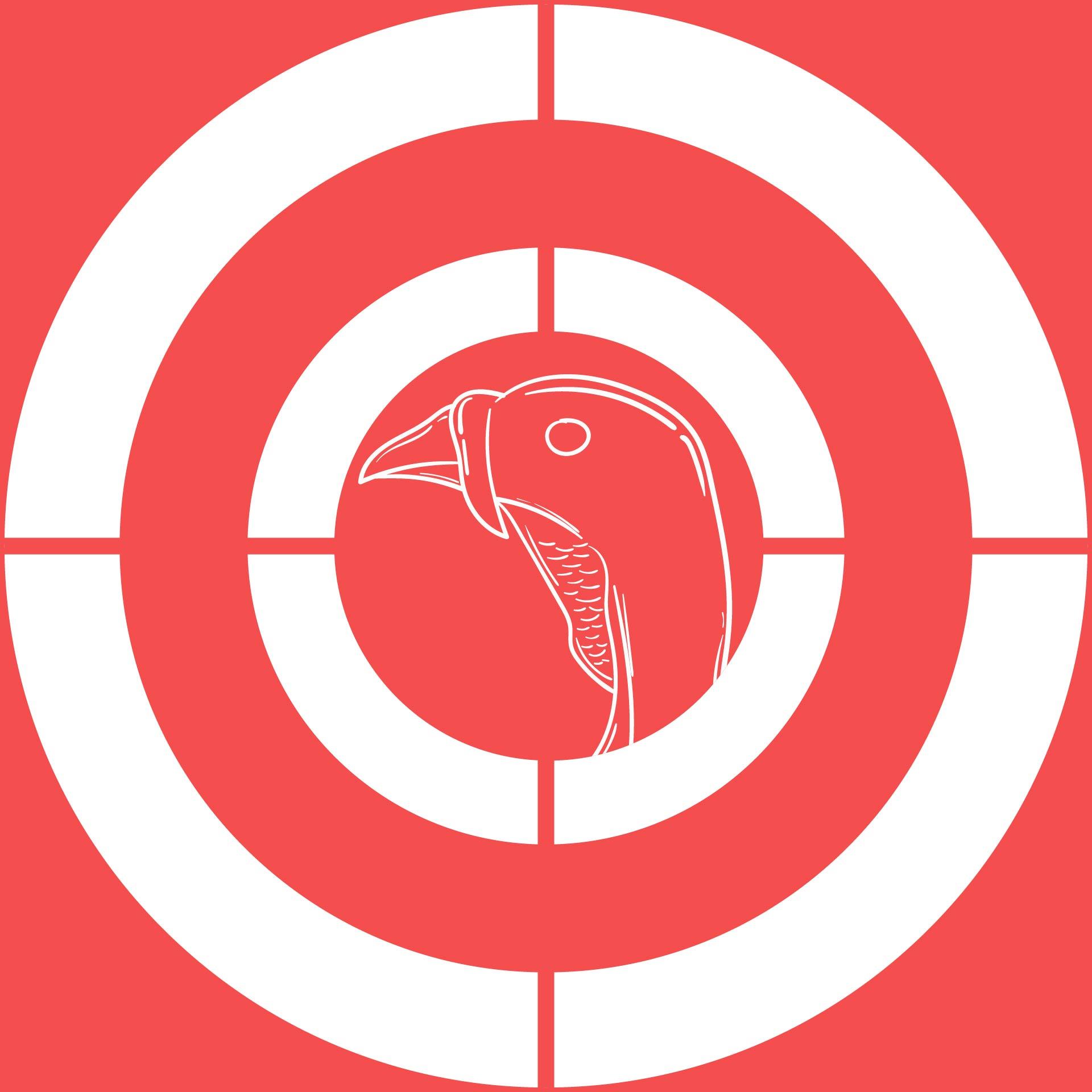 Printable Turkey Head Target