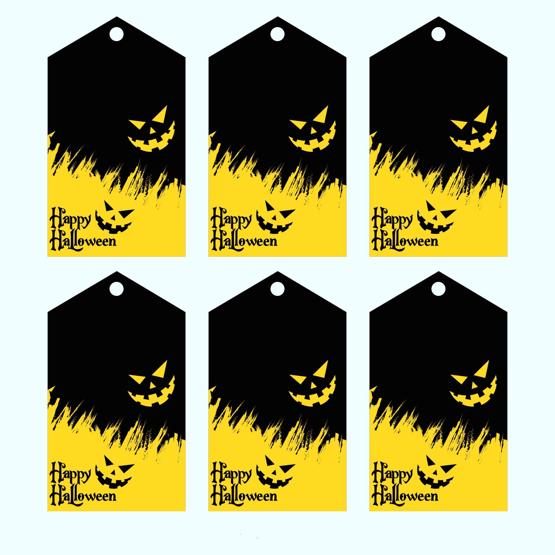 Free Printable Halloween Gift Bag Tags