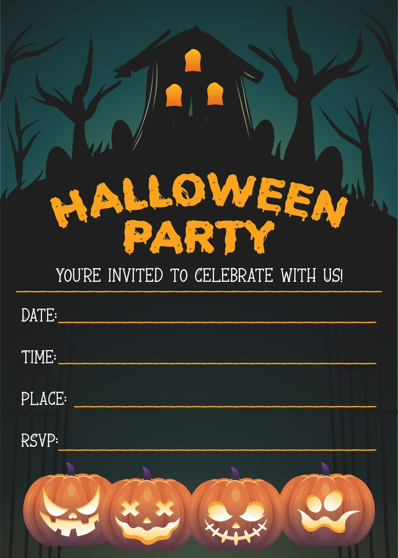 Halloween Flyer Templates Free For Word