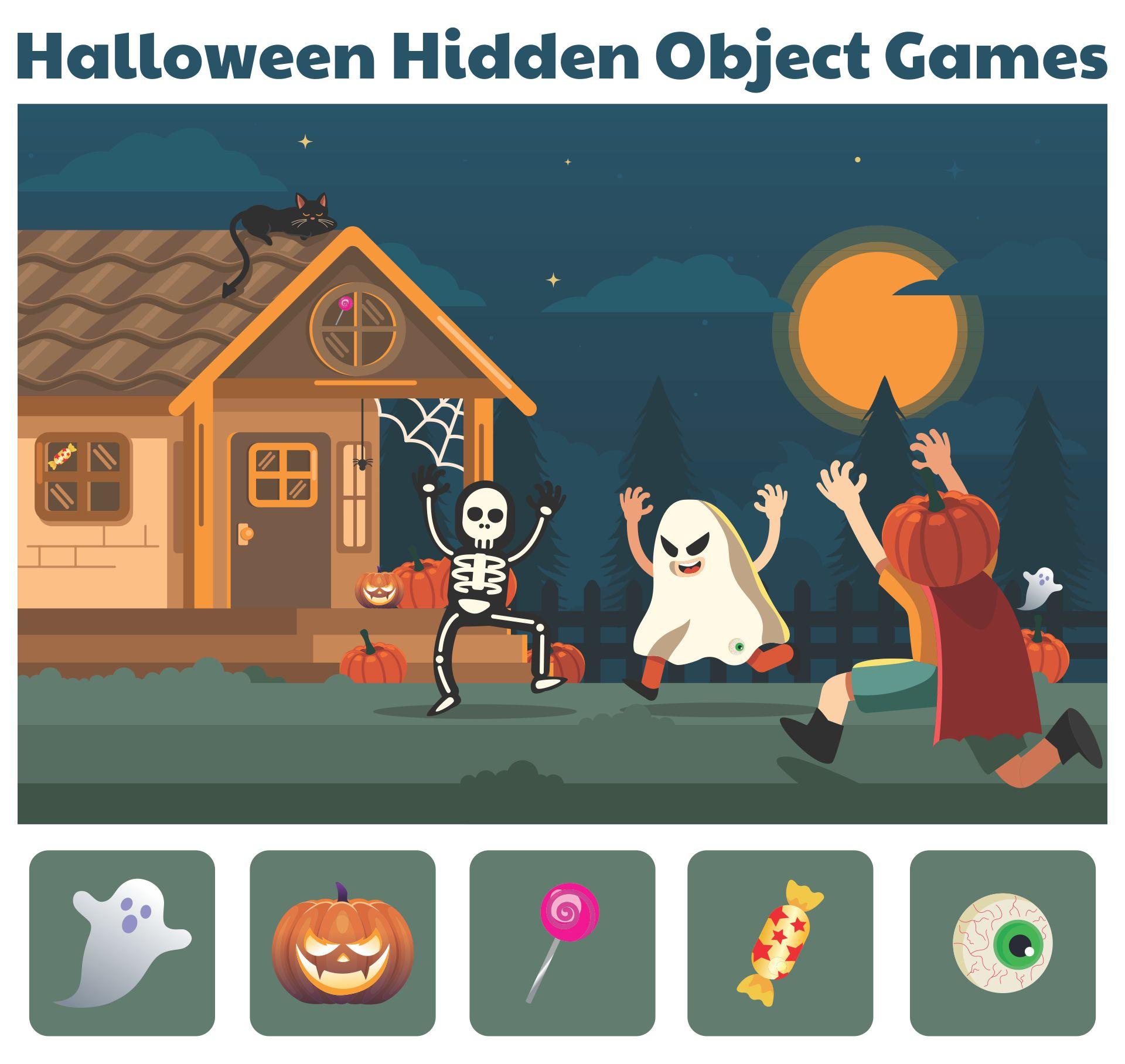 Halloween Hidden Object Games