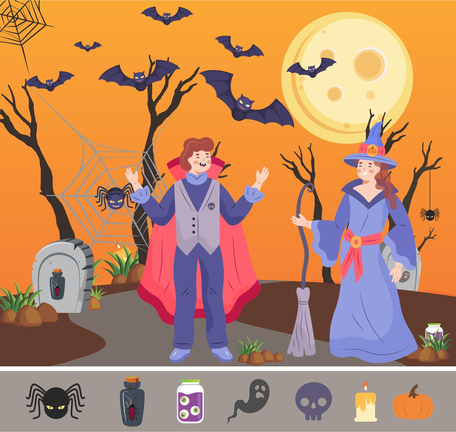 Halloween Hidden Pictures Printables