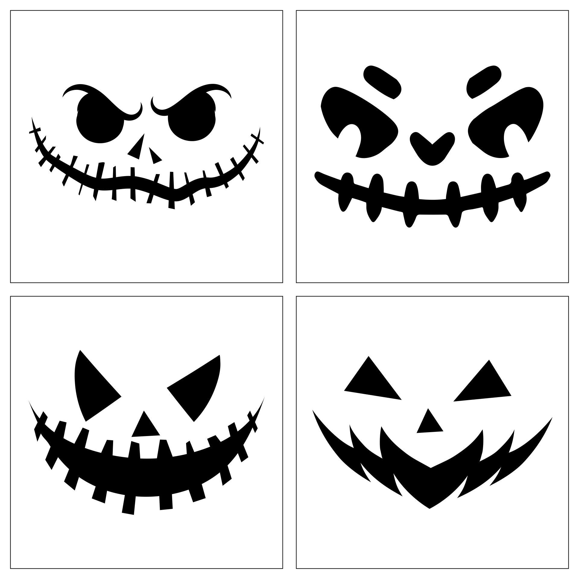Halloween Pumpkin Templates Free Printable
