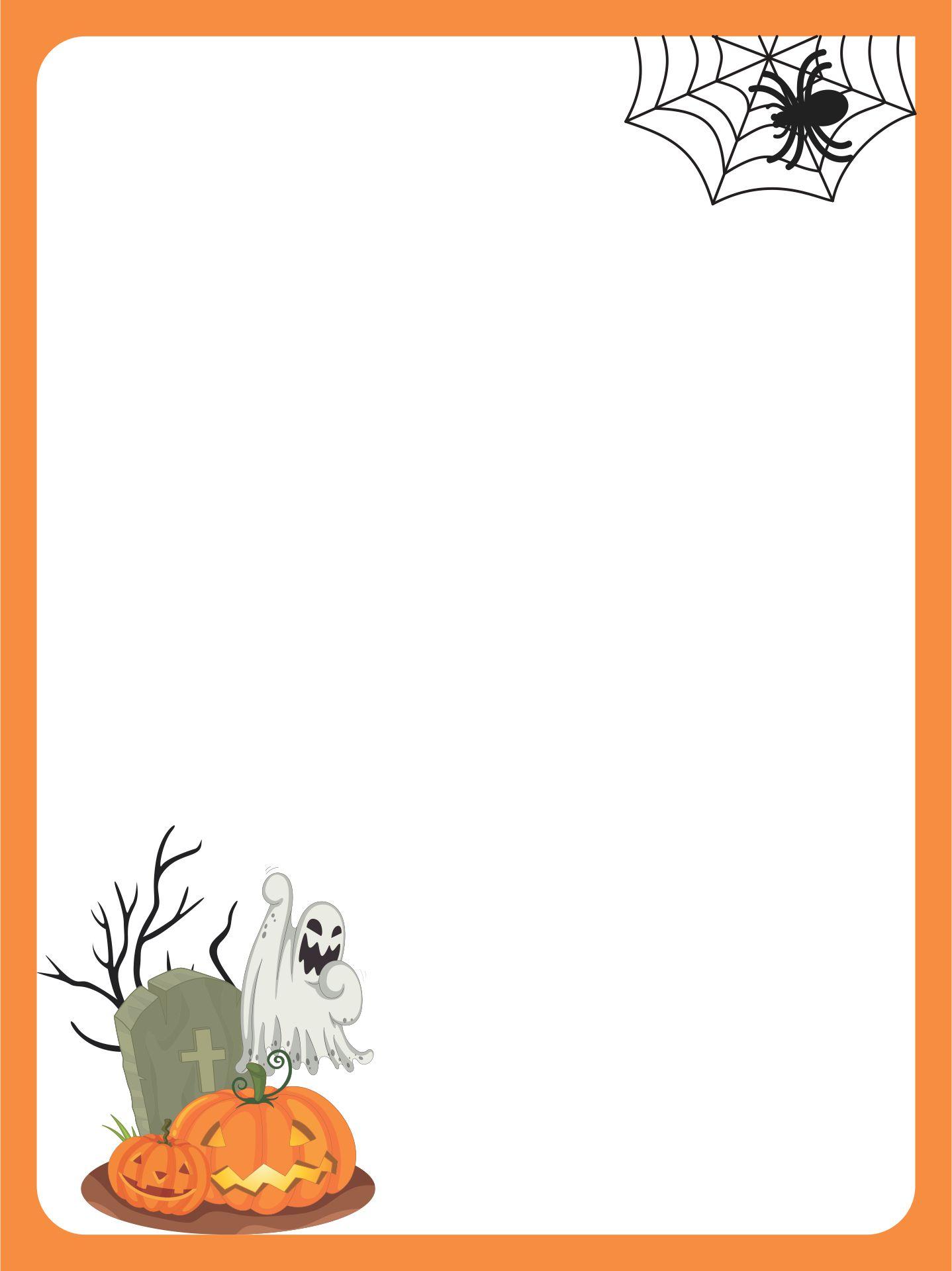 Halloween Themed Stationery