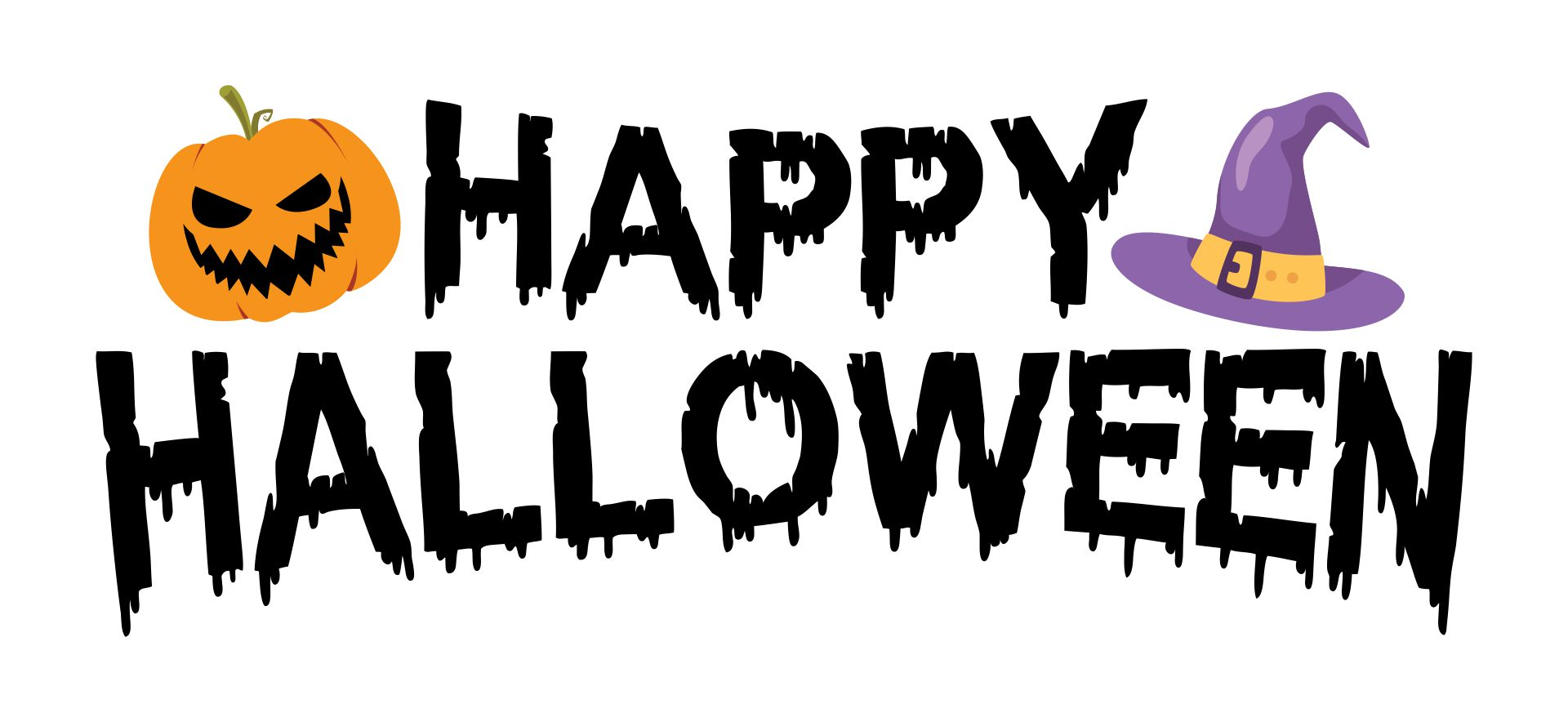 Happy Halloween Print Out
