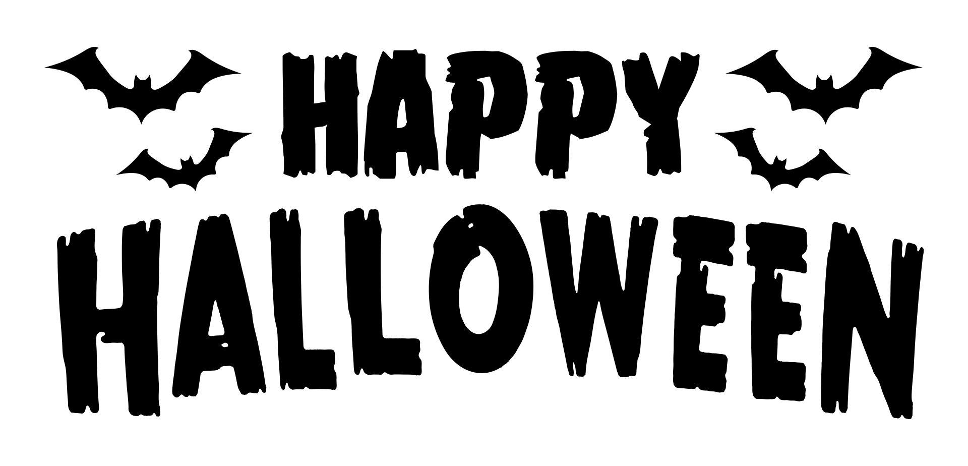 Happy Halloween Wood Signs