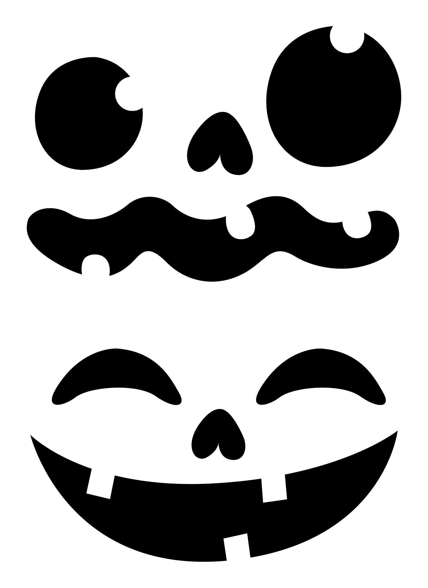 Printable Halloween Stencils For Pumpkins