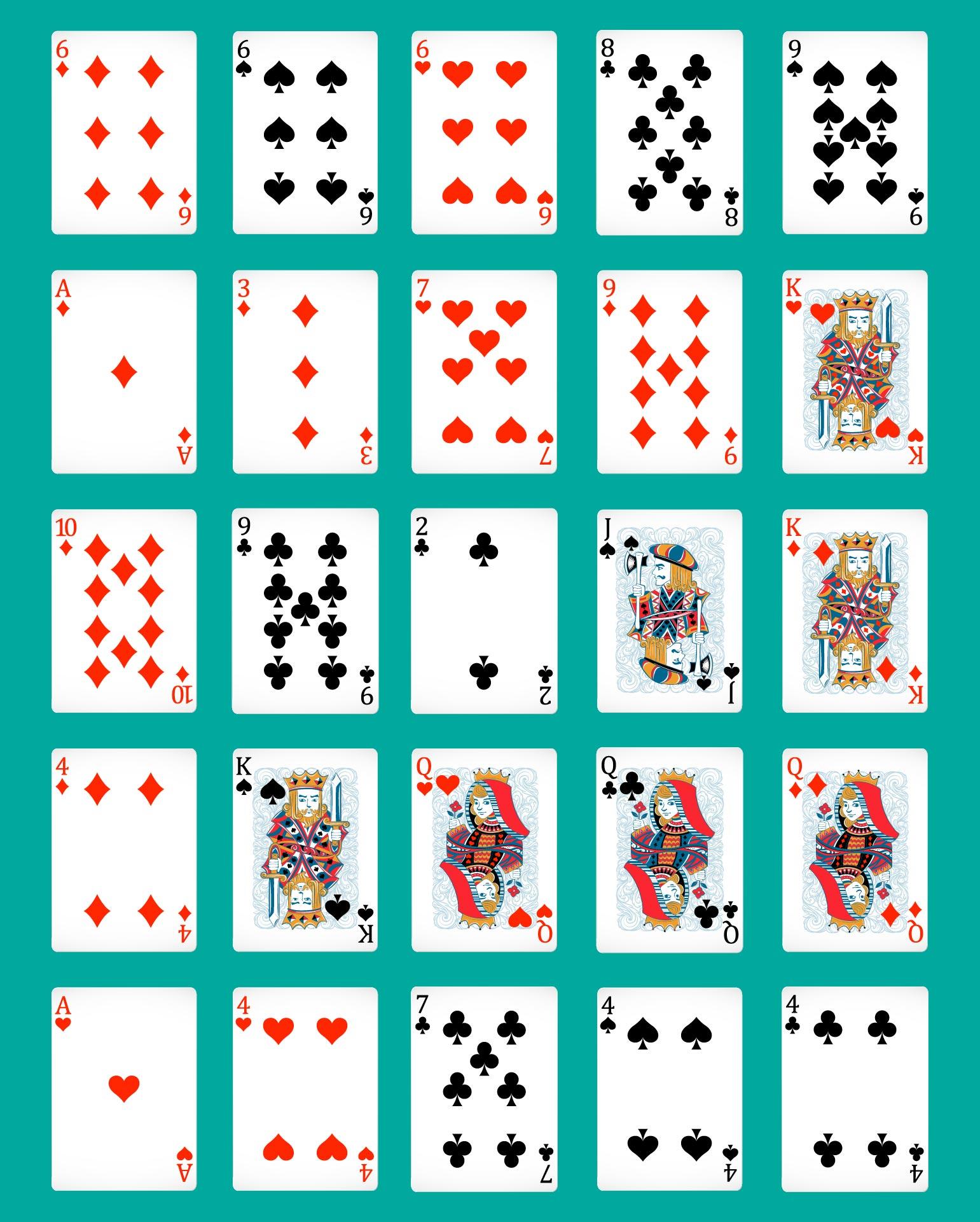 Printable Pokeno Board Game Instructions