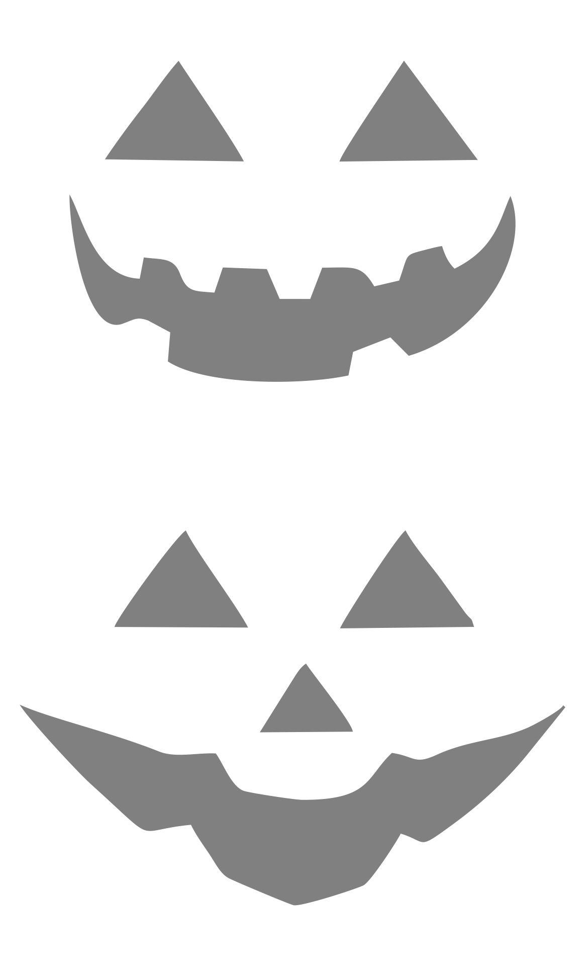 Printable Pumpkin Carving Stencils