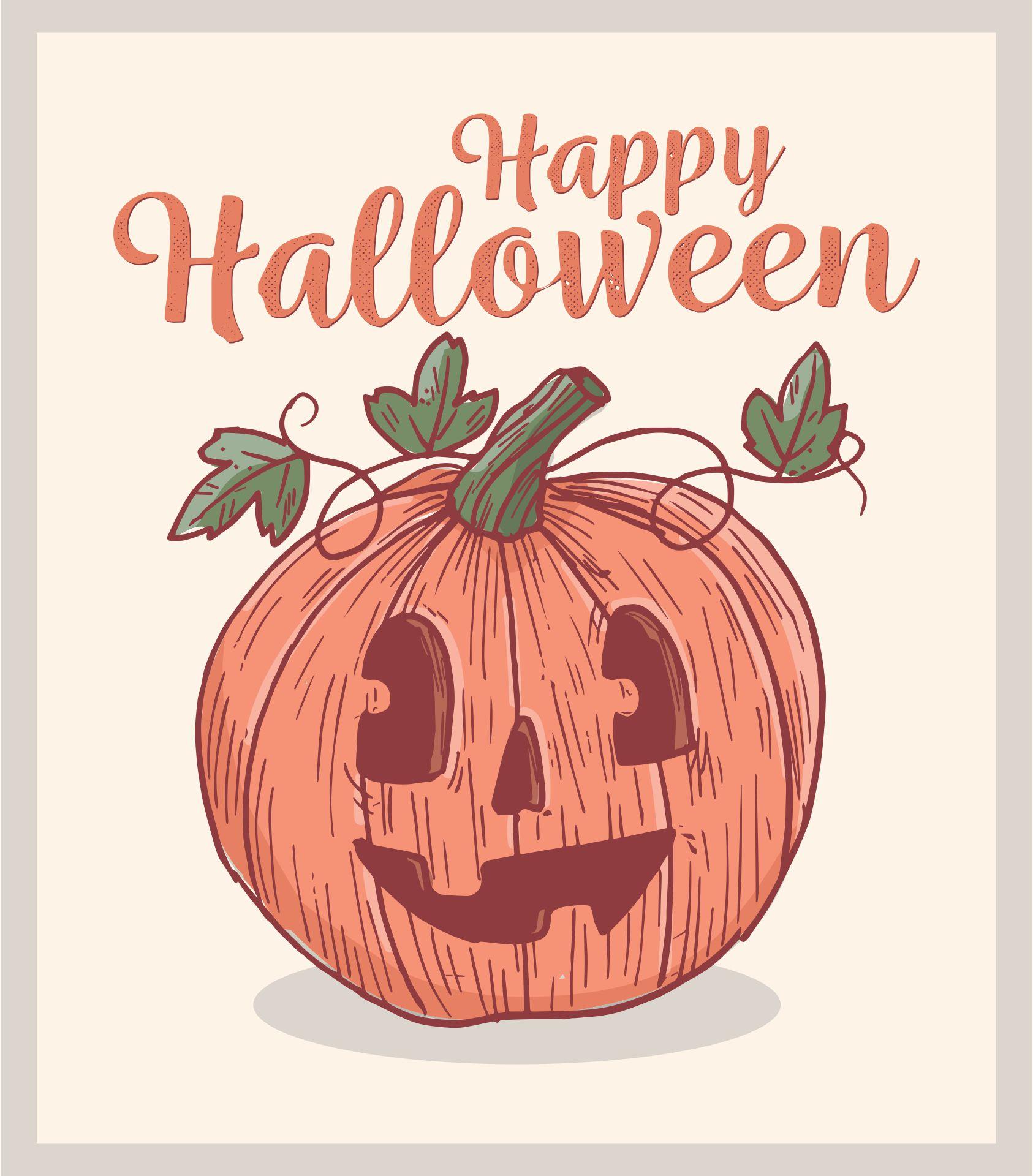 Retro Vintage Halloween Decorations Printable