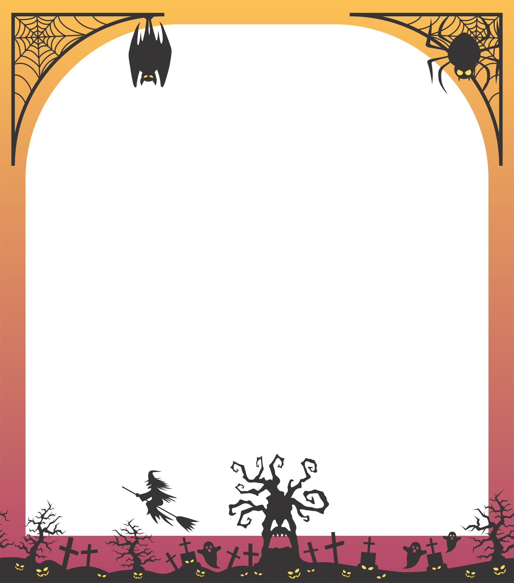 Spooky Halloween Stationery