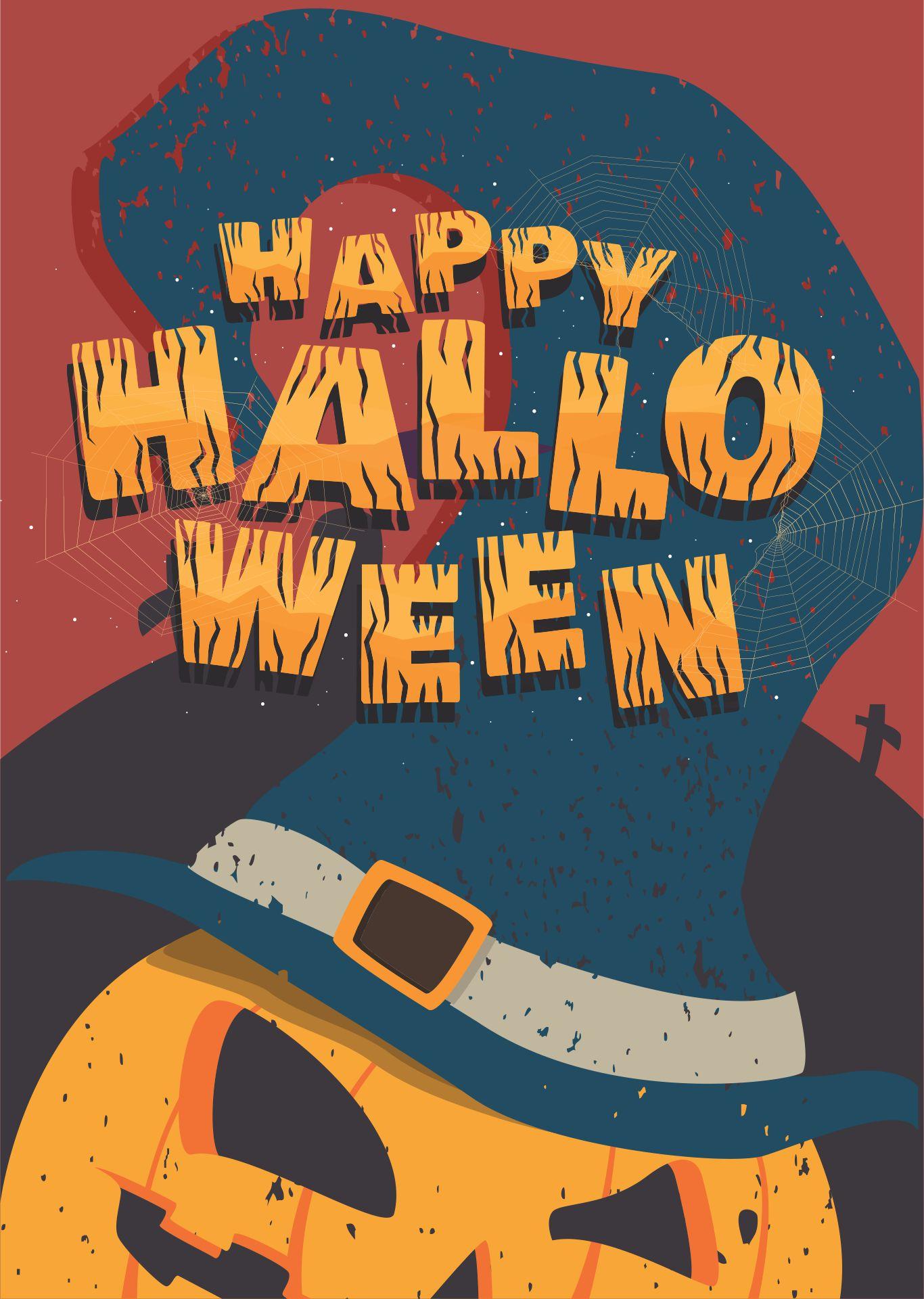 Vintage Halloween Cards Printable