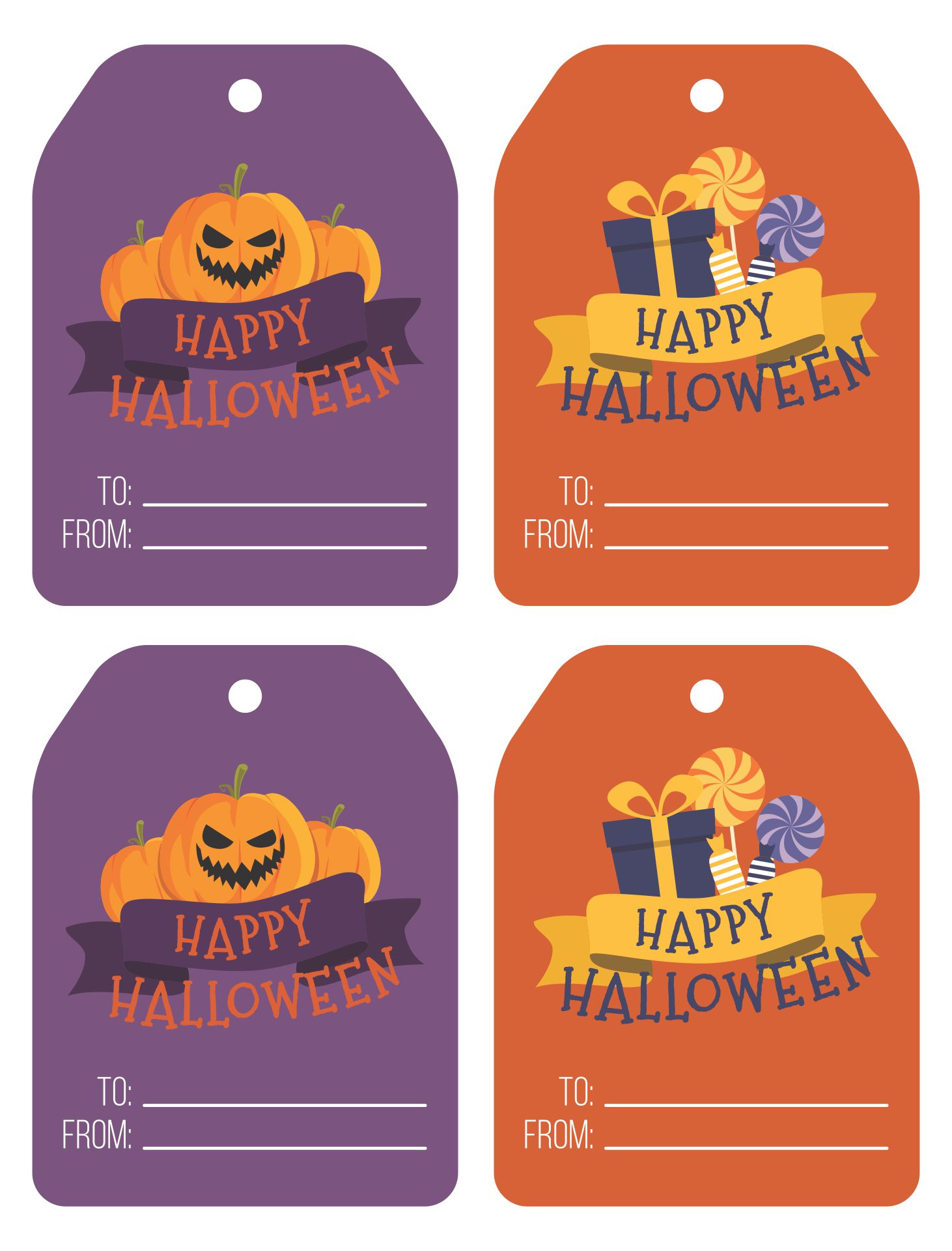 Candy-Free Halloween Gifts And Favor Ideas