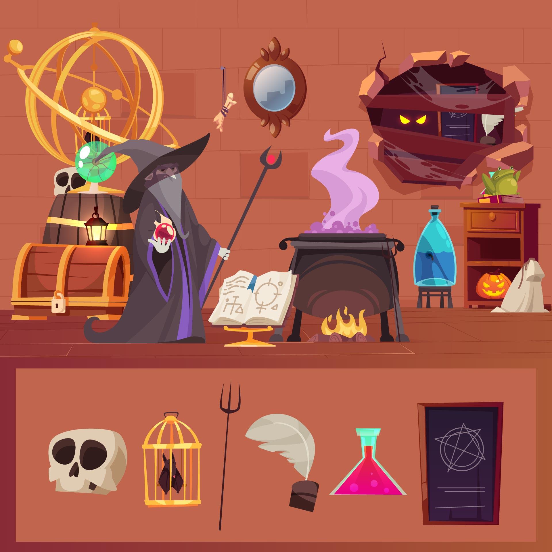 Engaging Halloween Hidden Picture Puzzles