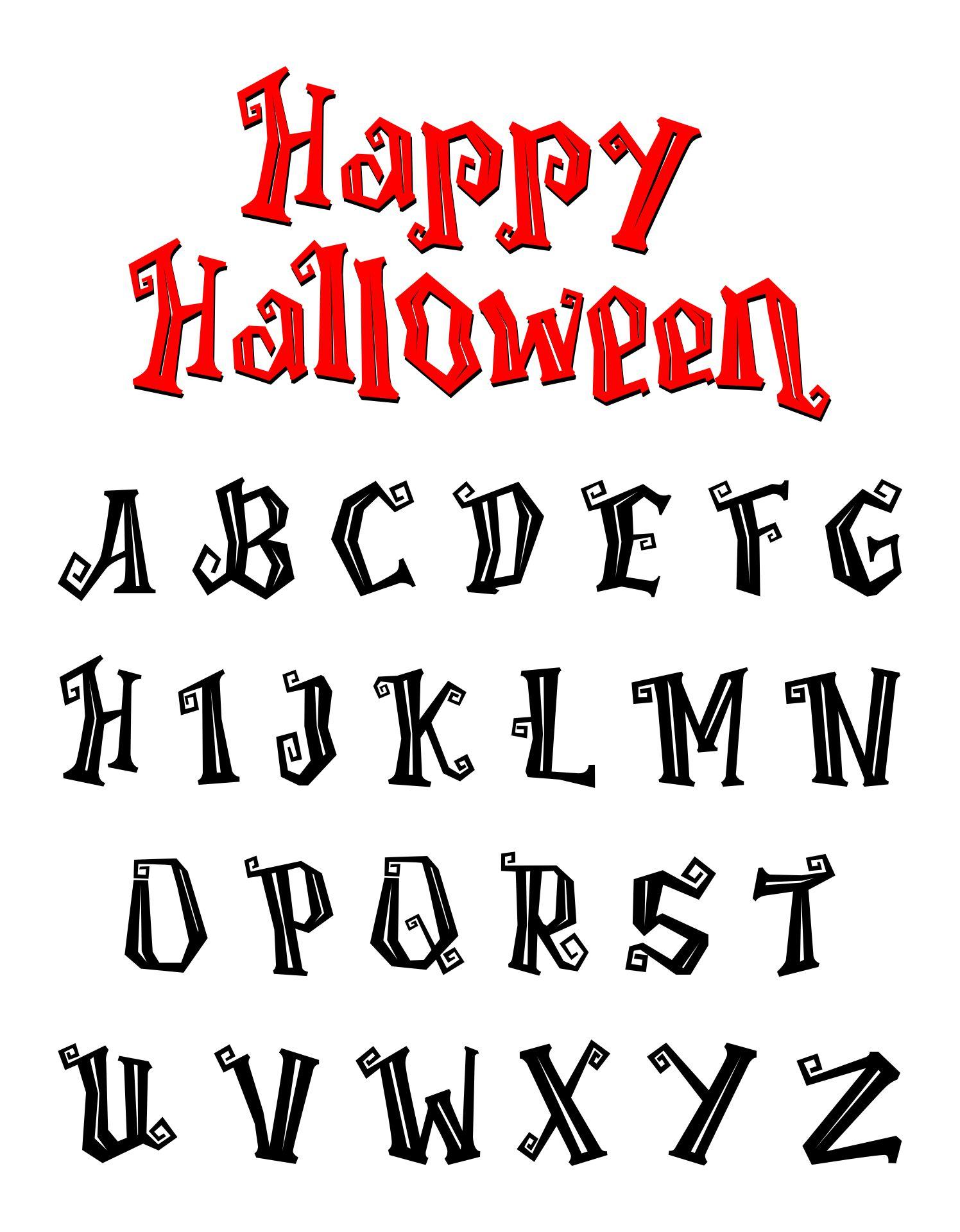 Free Creepy Halloween Fonts