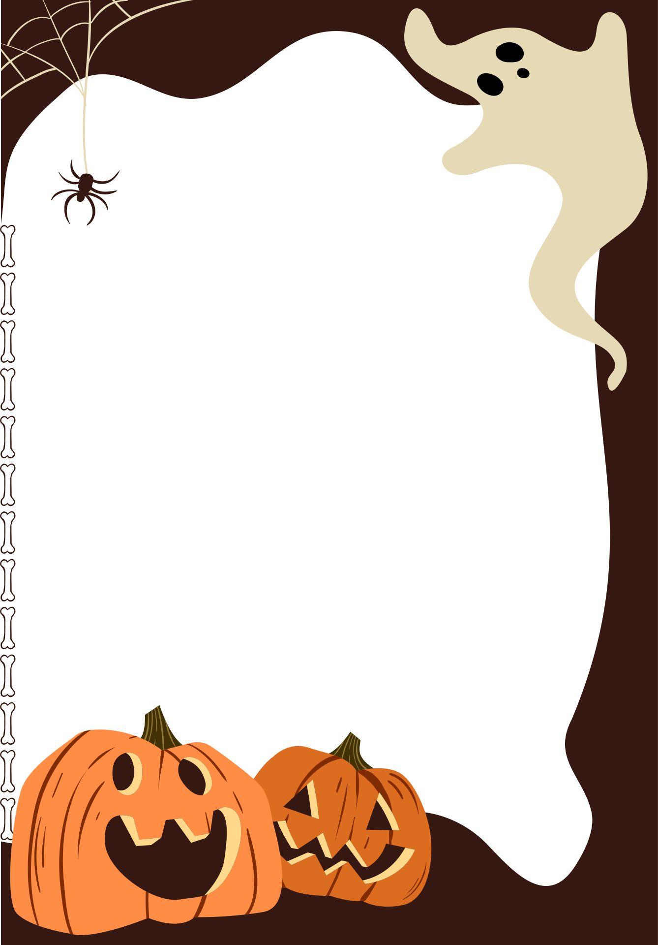 Free Halloween Clip Art Halloween Borders Pumpkins Halloween