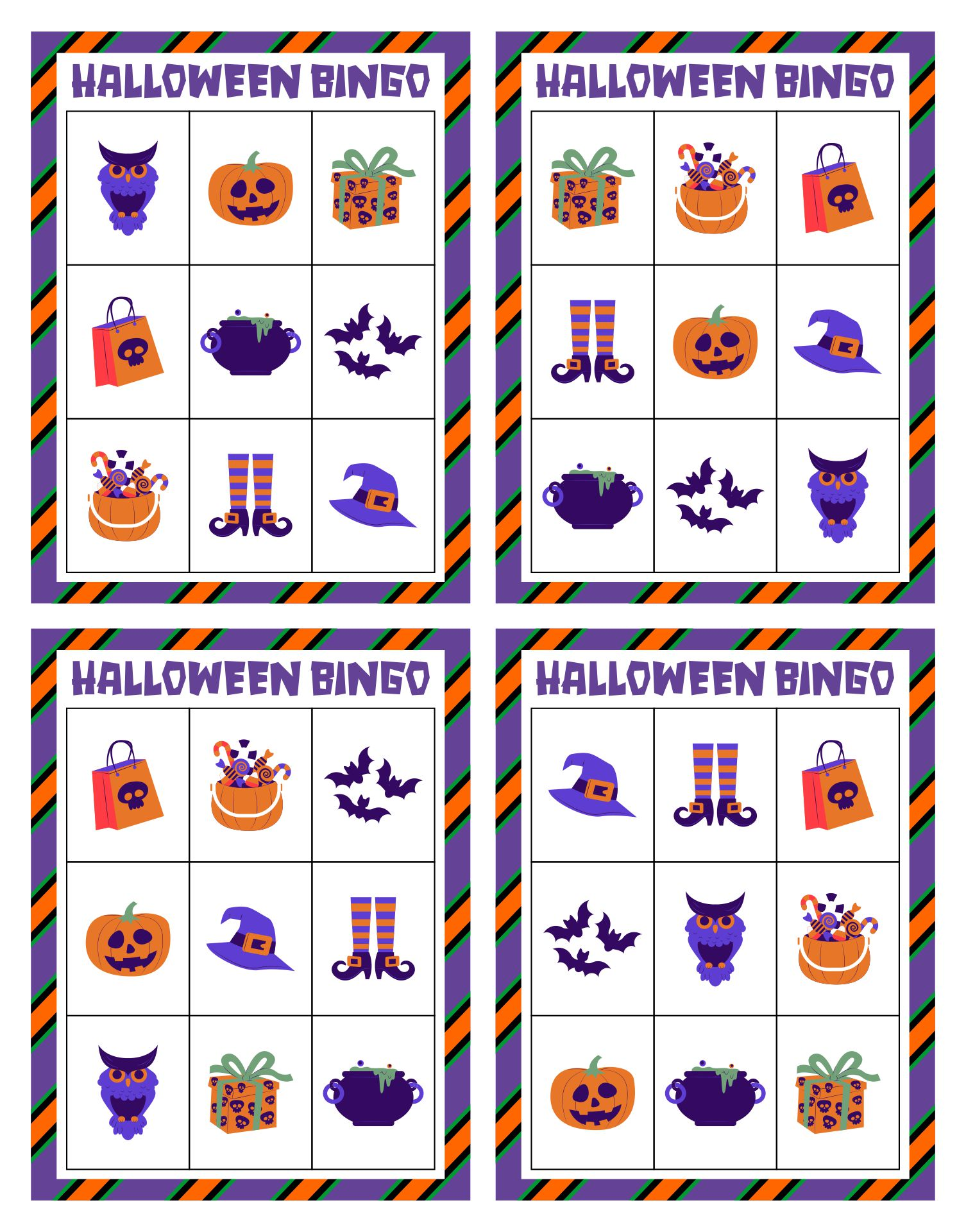 Free Halloween Printables For Family Fun Activities