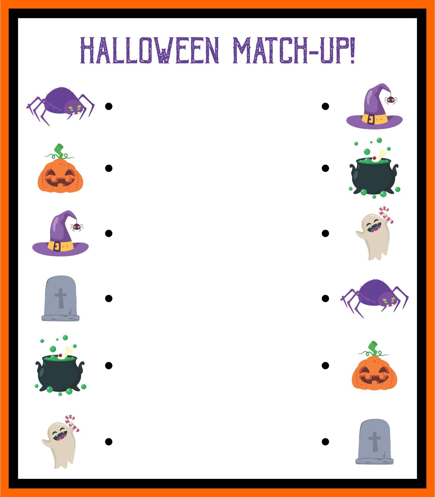 Halloween Activities For Preschoolers