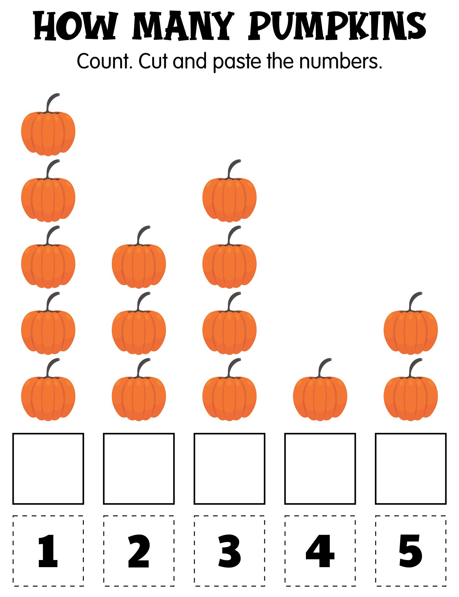 Halloween Activity Sheets For 1st Grade