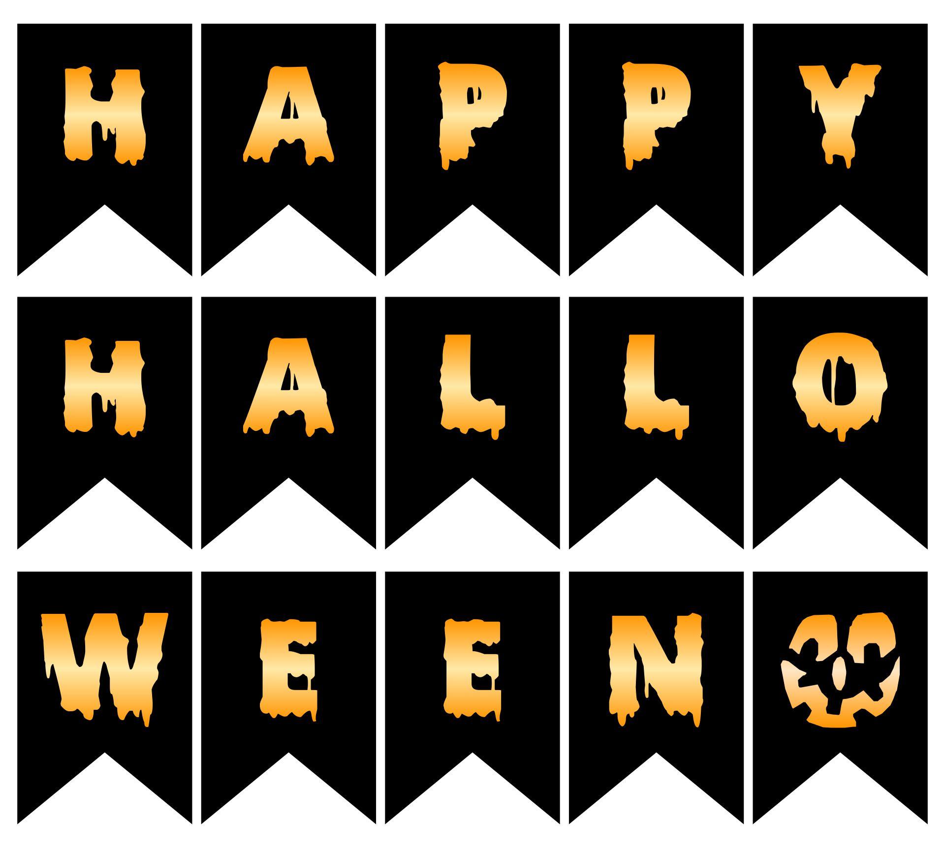 Halloween Bash Happy Halloween Banner