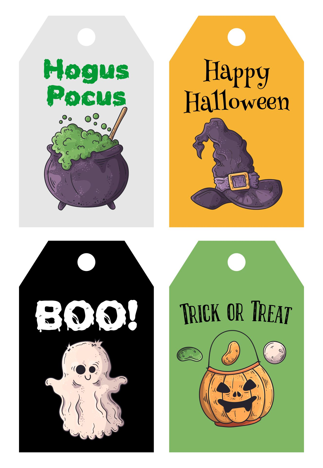 Halloween Favor Tags