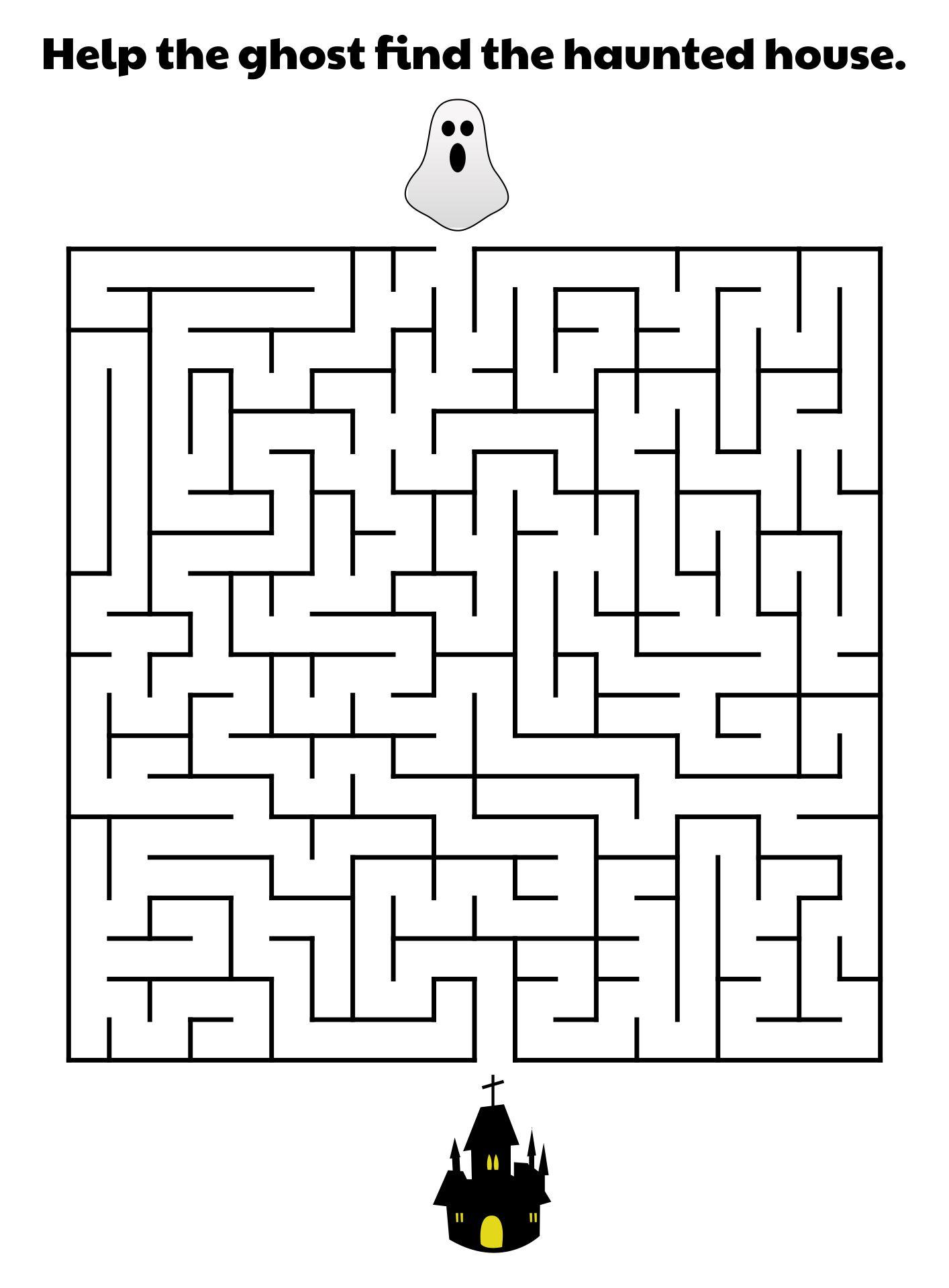 Halloween Haunted House Maze