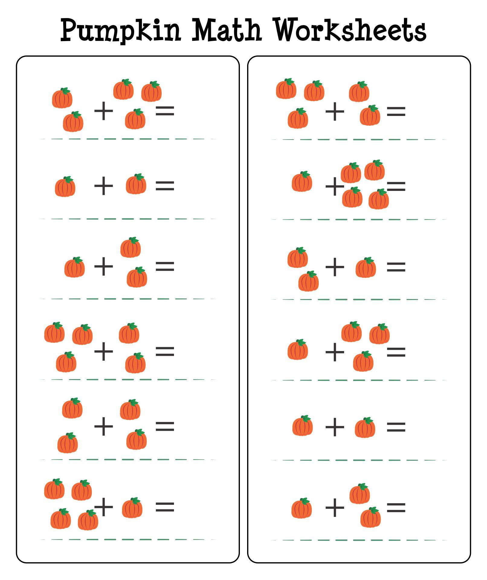 Halloween Math Activities For Preschoolers